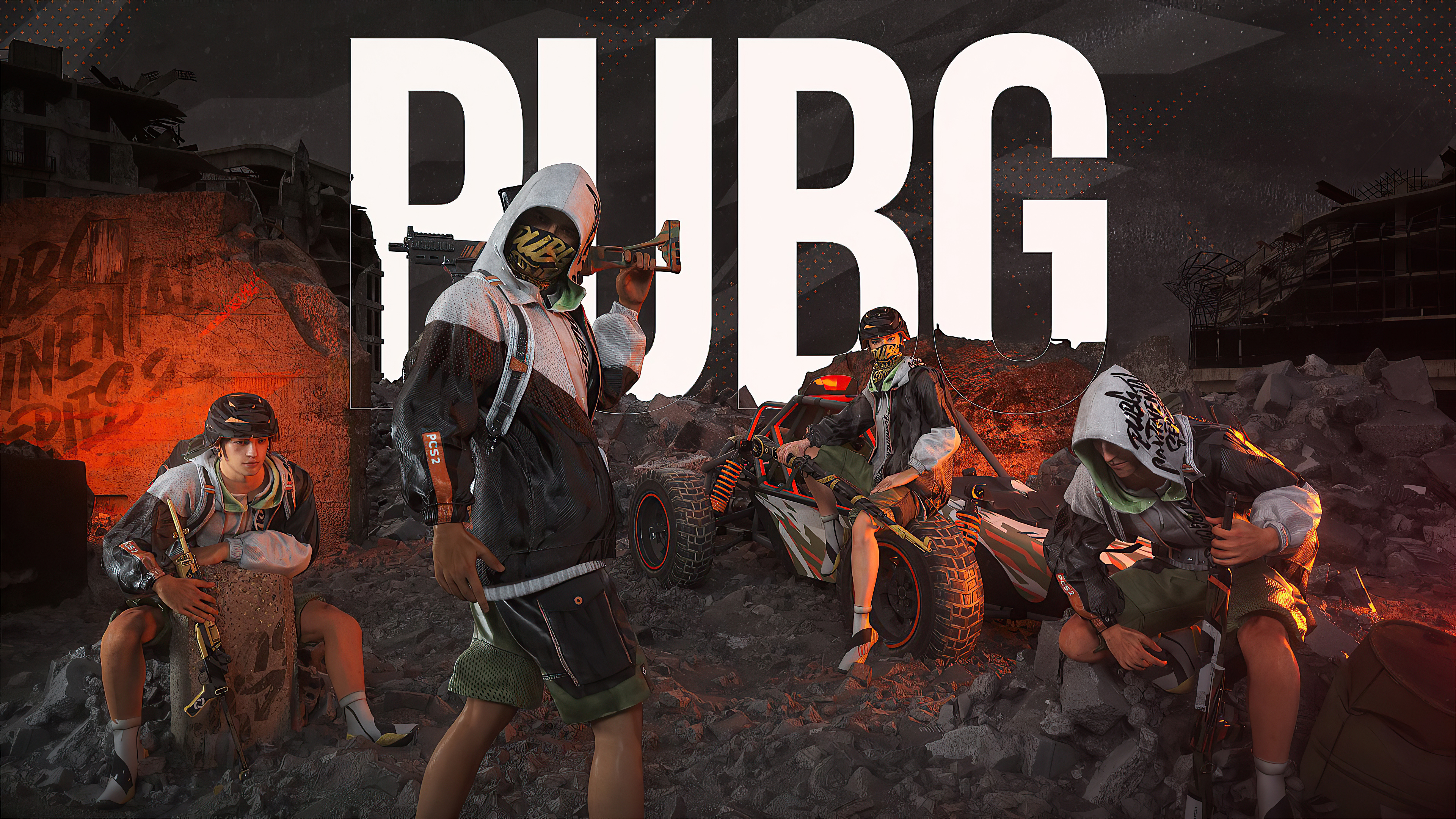 Fondos de pantalla Juego PUBG 2020