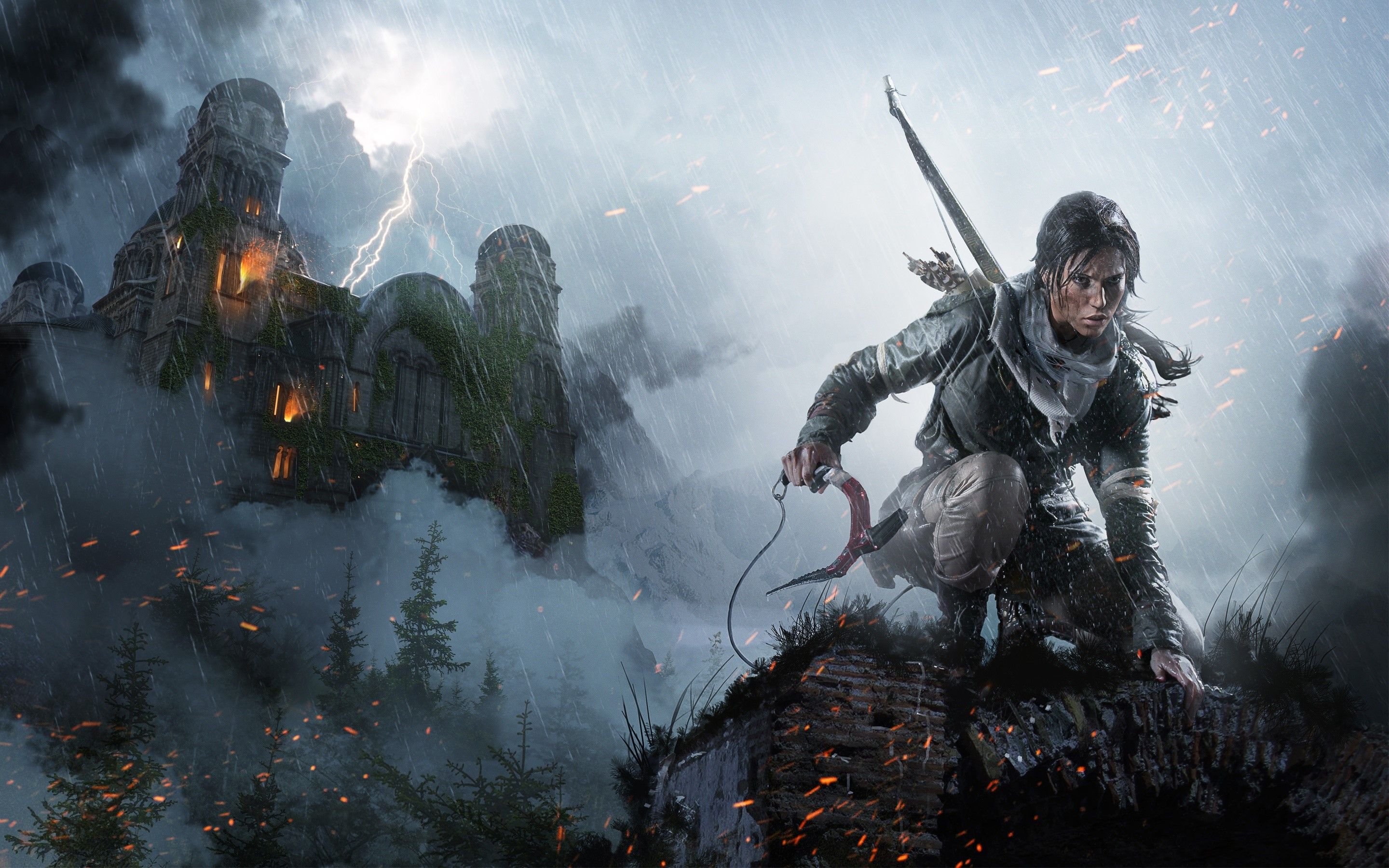Wallpaper Game Rise of Tomb Raider