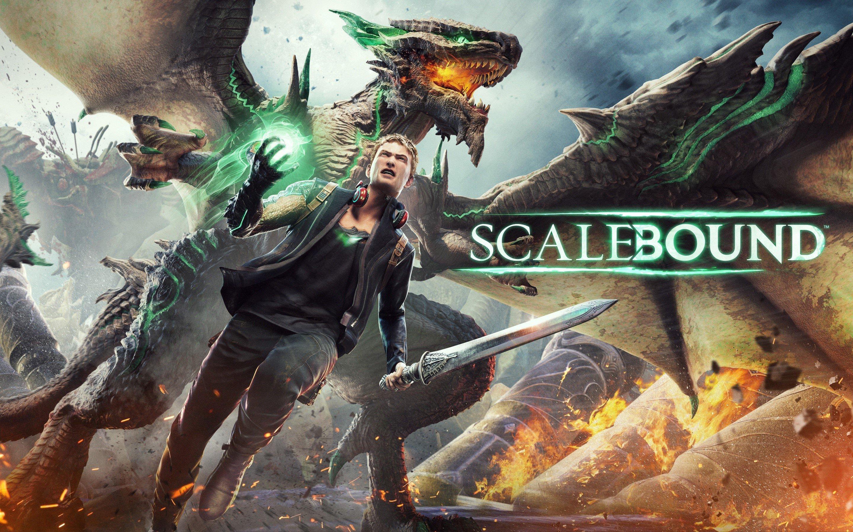 Fondo de pantalla de Juego Scalebound Imágenes