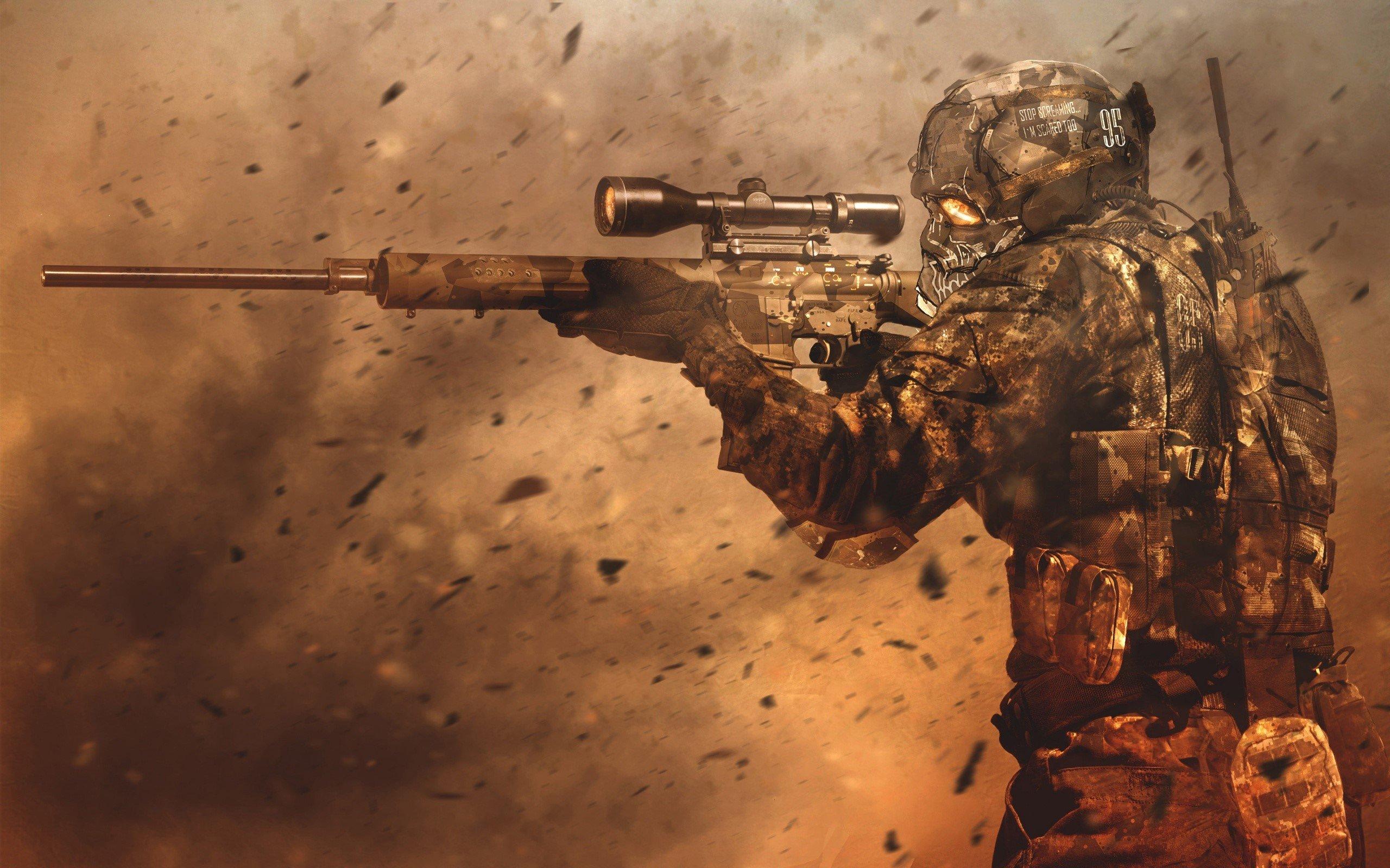Wallpaper Juego Sniper