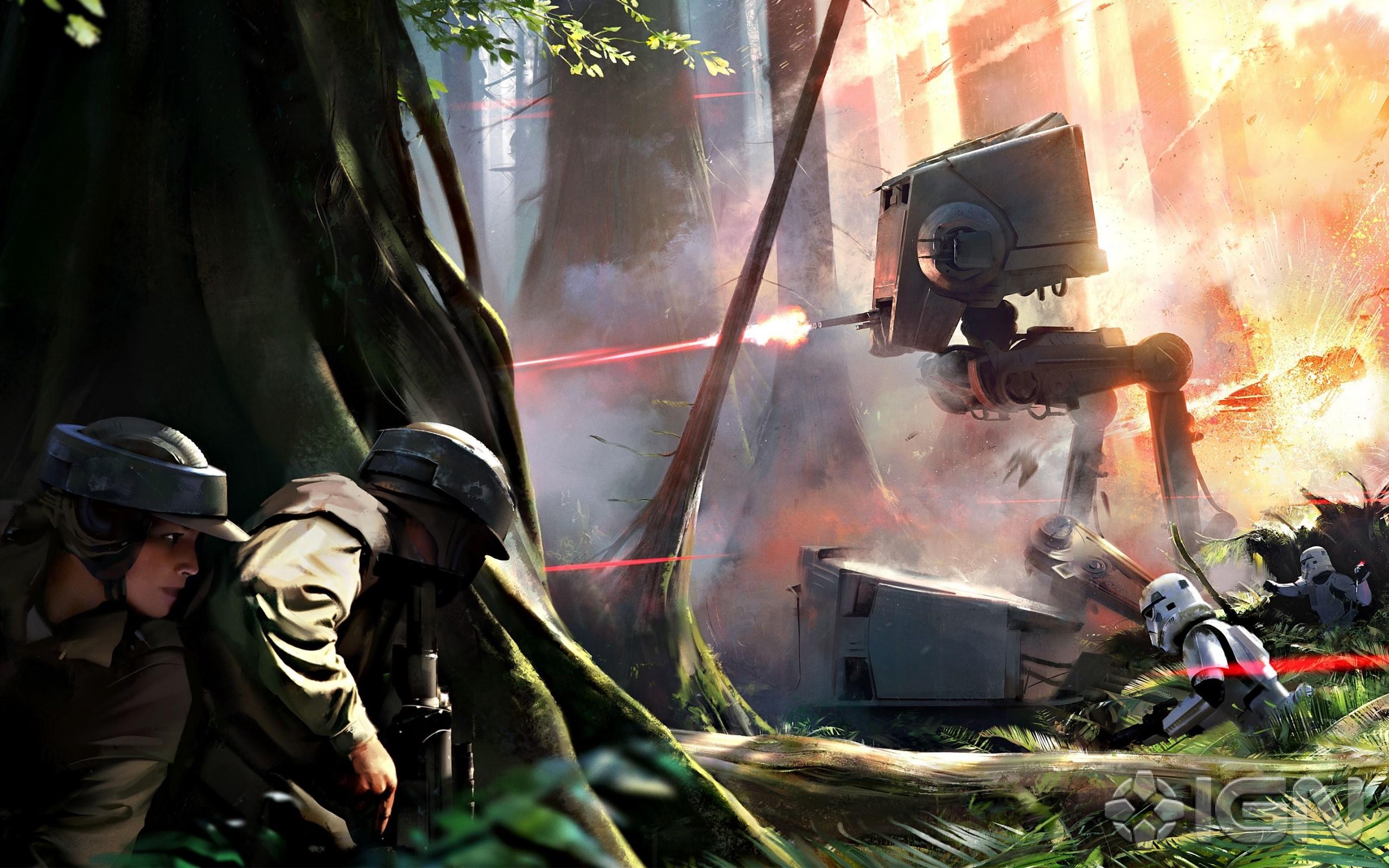 Wallpaper Game Star Wars Battlefront