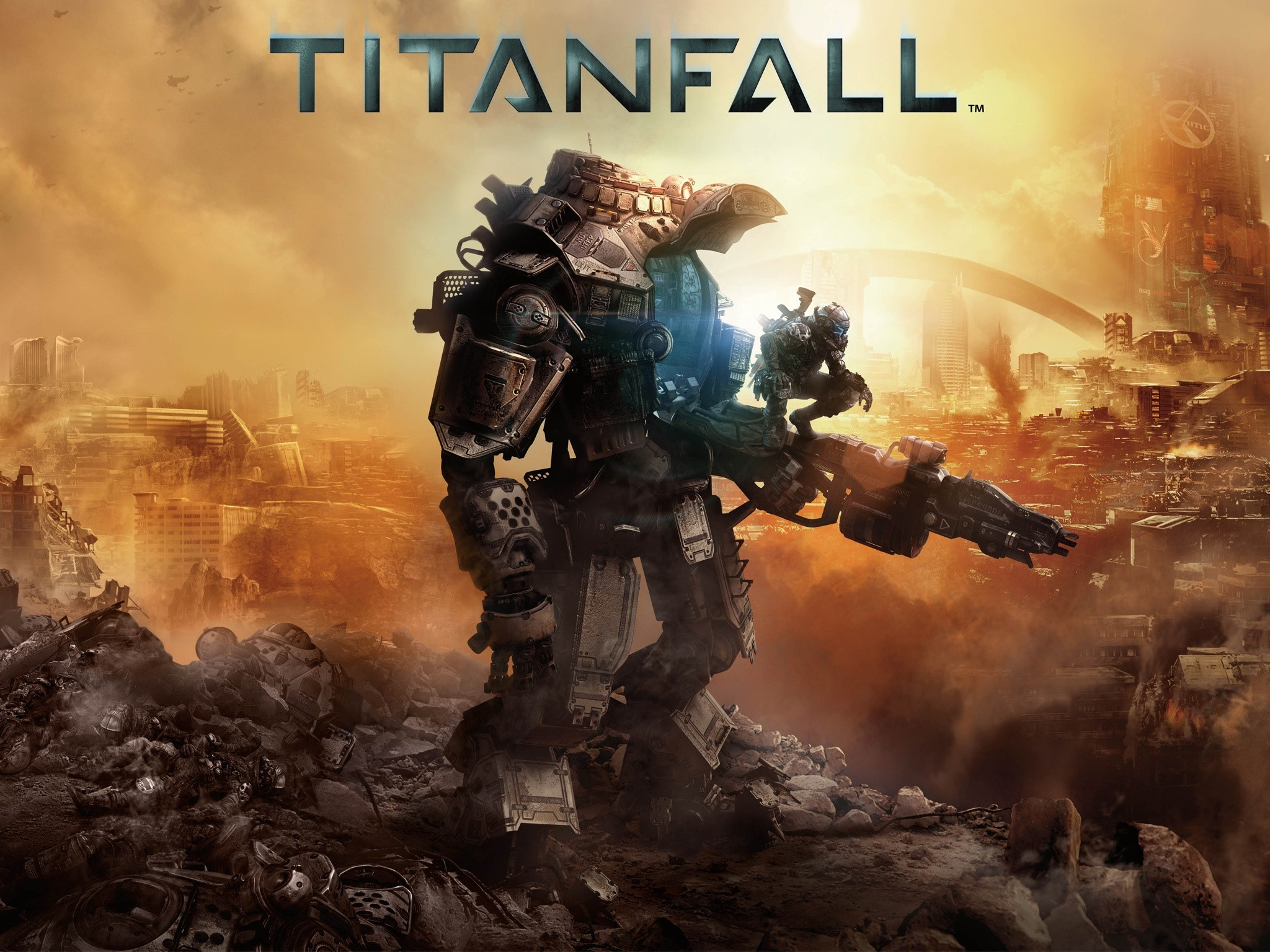 Wallpaper Titanfall game for XboxOne