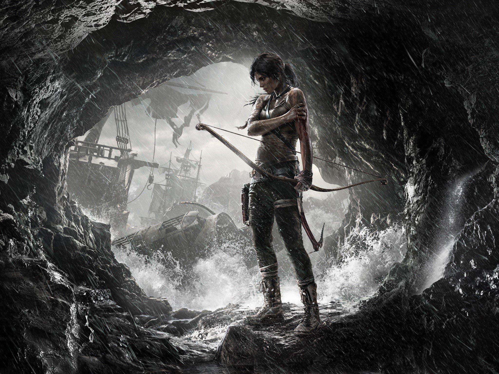 Wallpaper Game Tomb raider