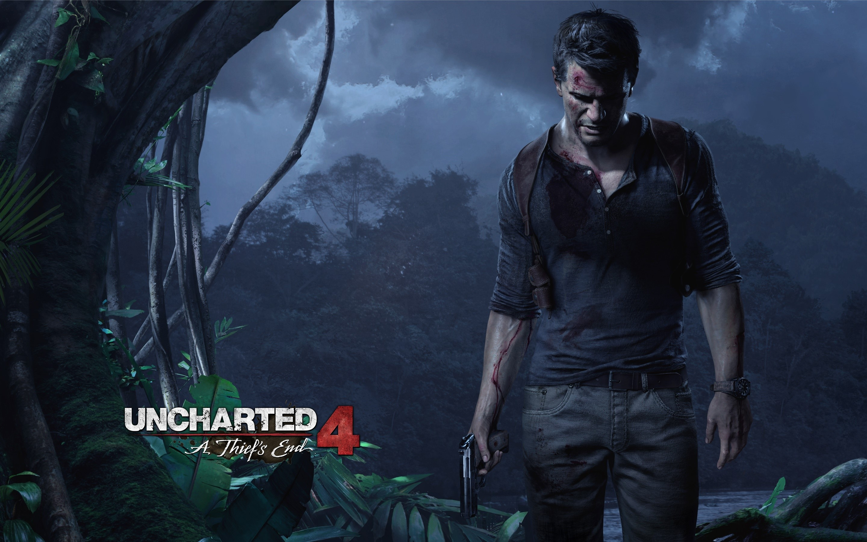 Wallpaper Uncharted game 4: The end of a thief