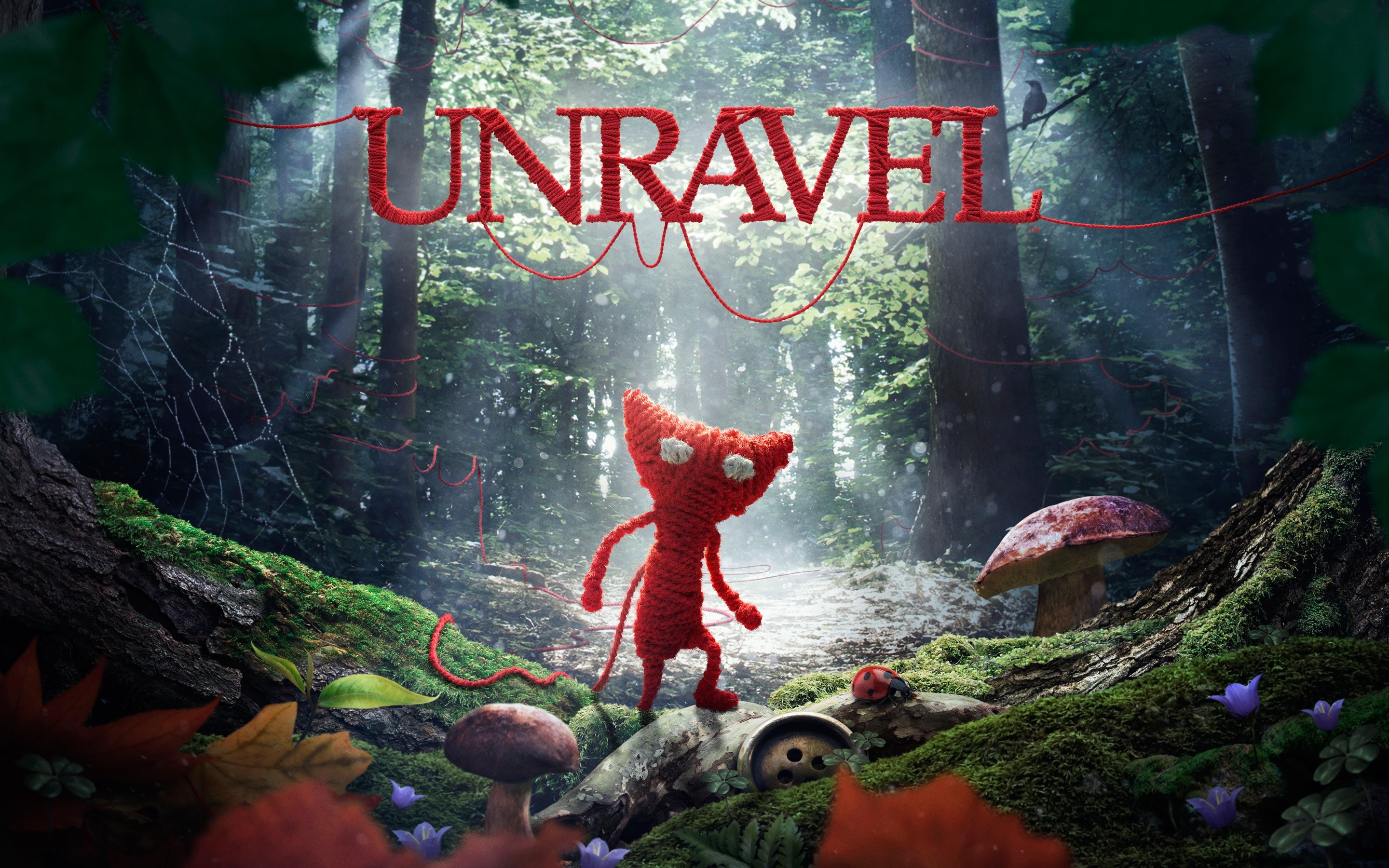 Wallpaper Unravel game
