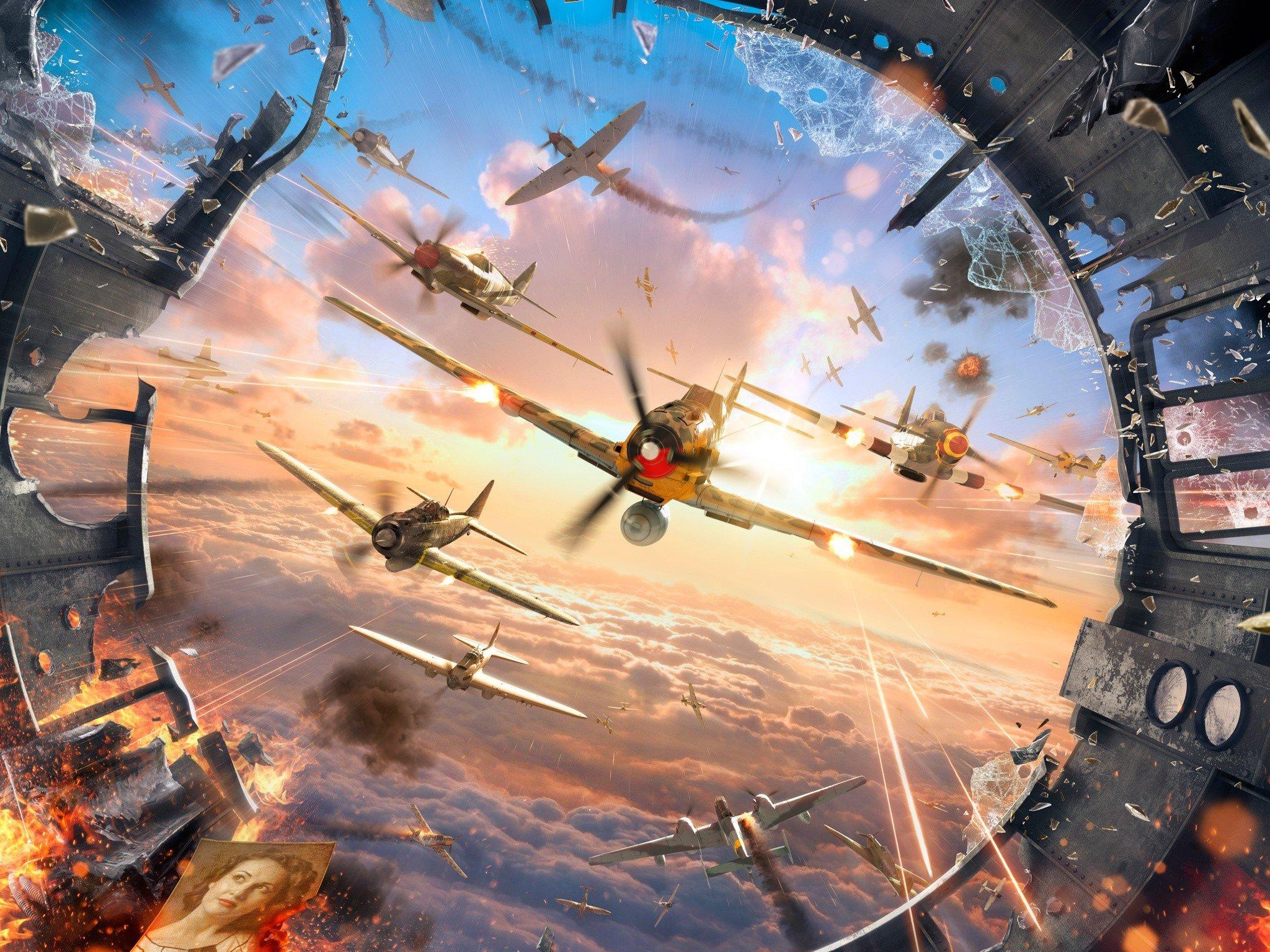 Wallpaper Juego World of warplanes Images