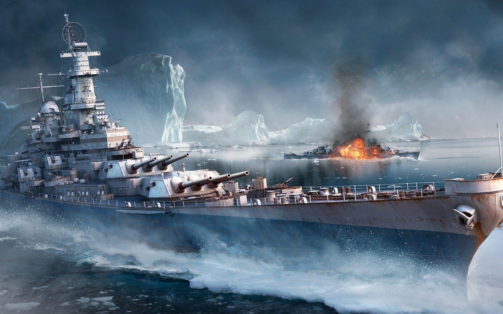 Wallpaper Game World of Warships