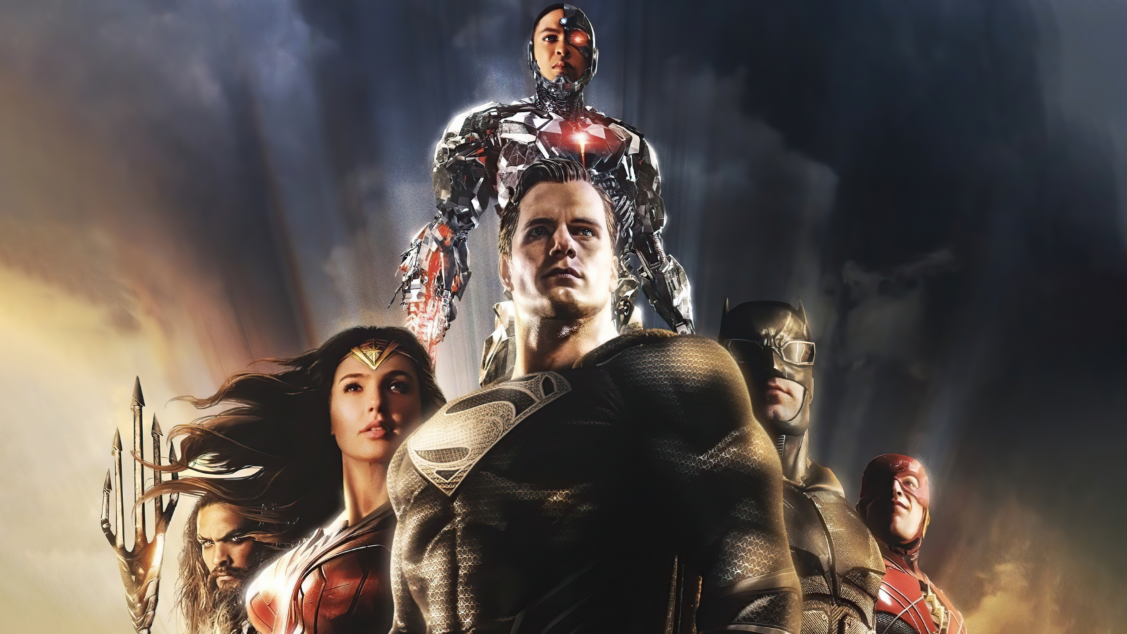 Wallpaper Justice League Snyder Variant