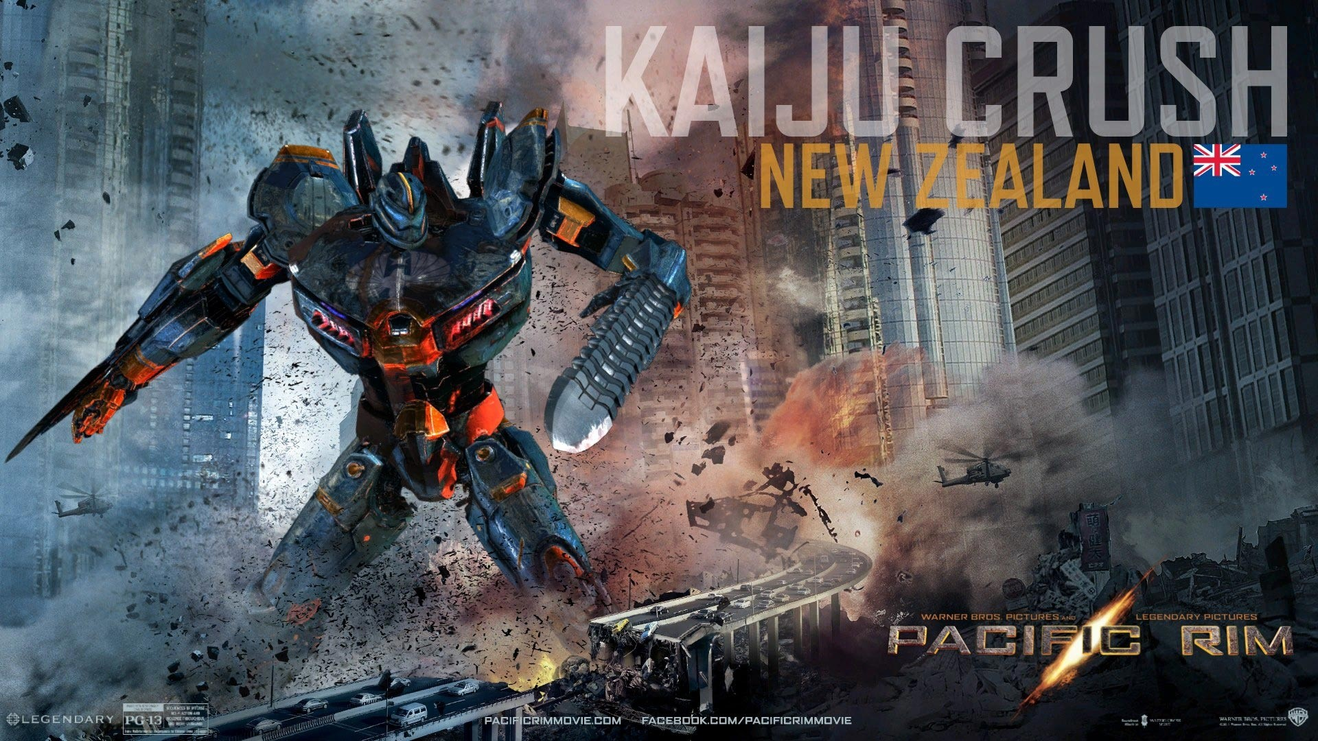 Wallpaper Kaiju crush en Titanes del pacifico Images