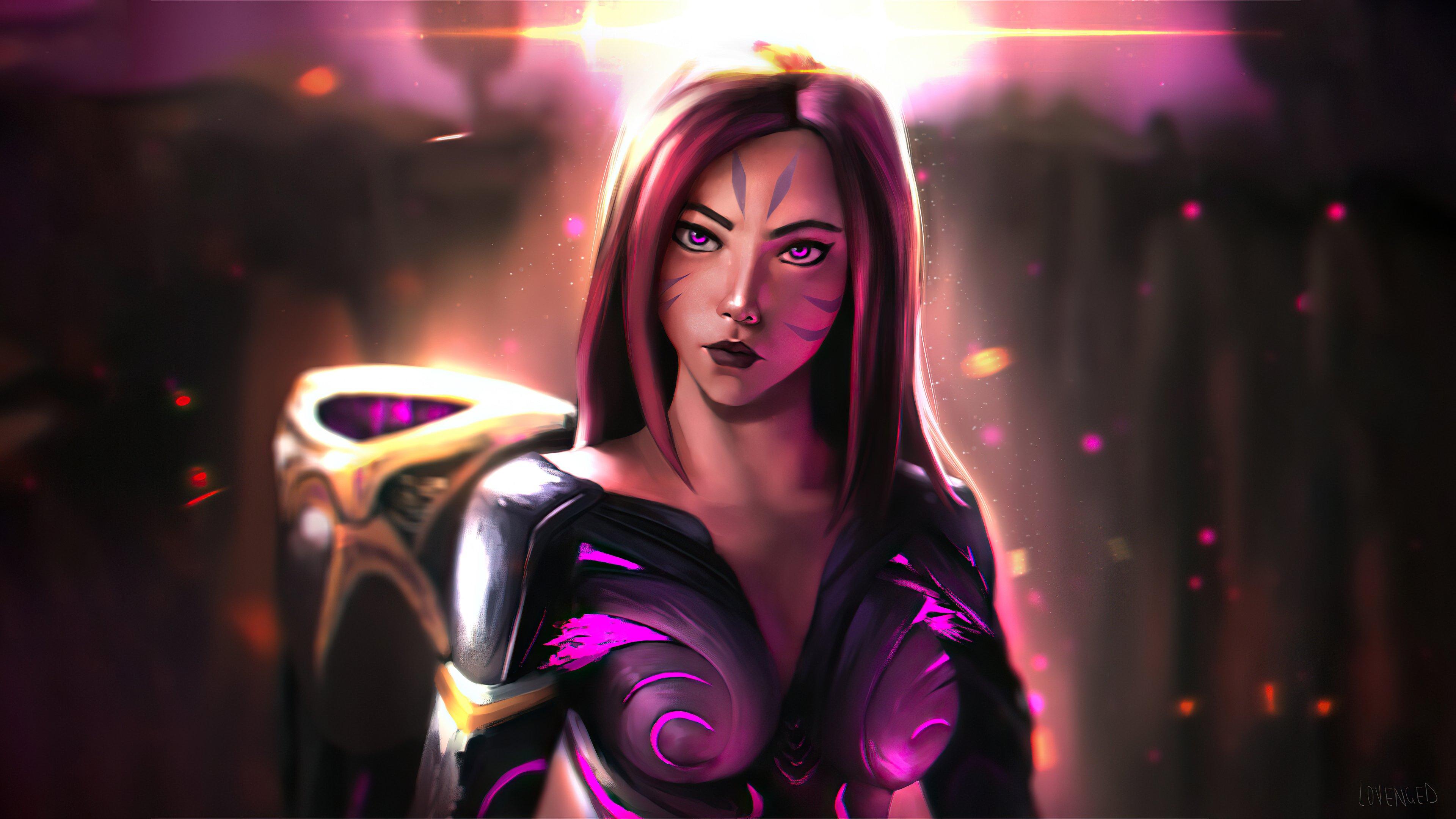 Wallpaper Kaisa League of Legends