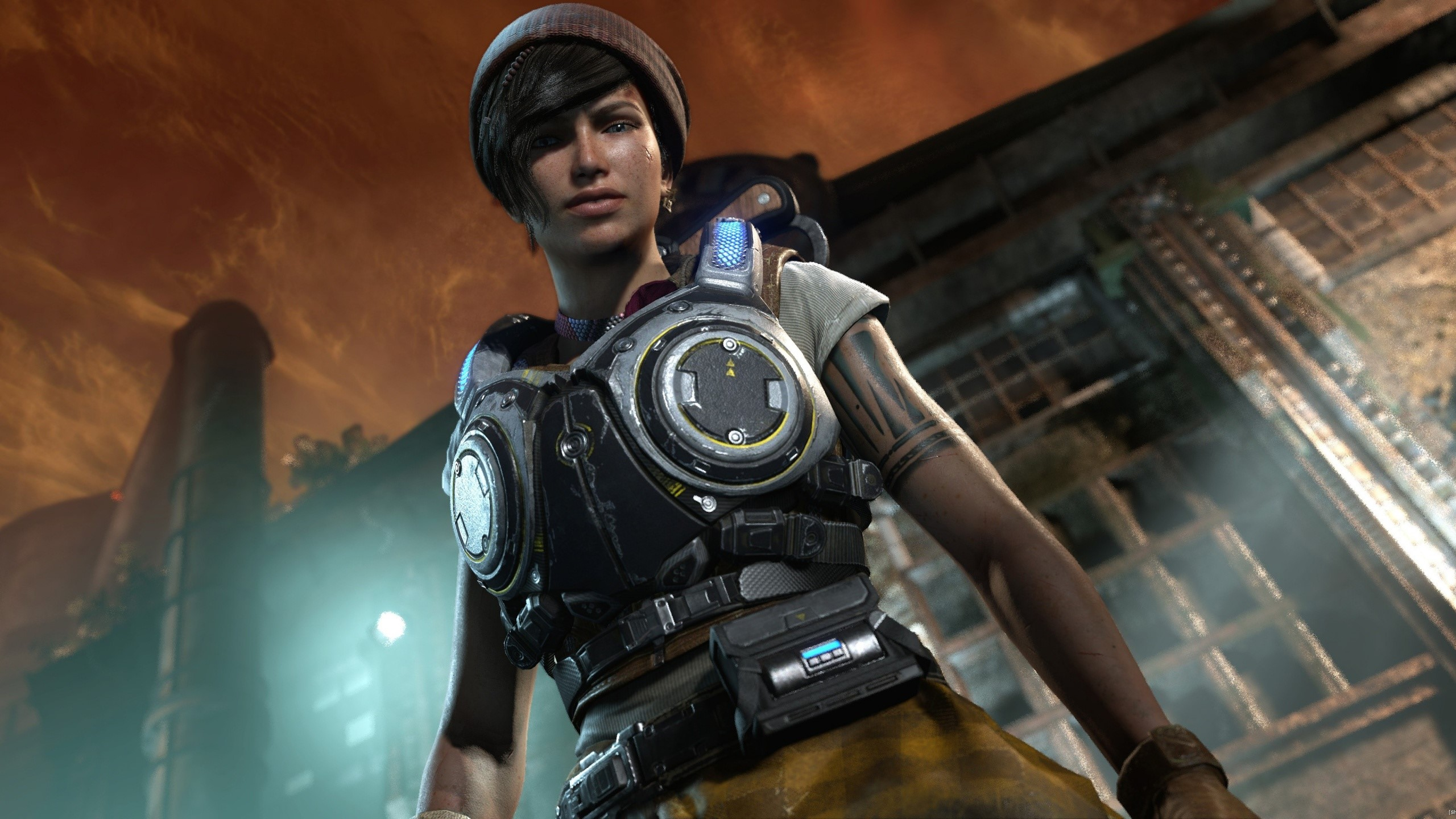 Wallpaper Kait Diaz from Gears Of War 4