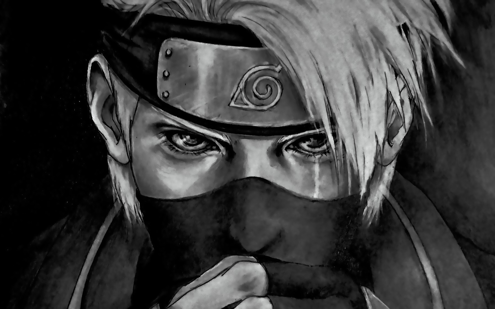 Anime Wallpaper Kakashi Hatake from Naruto