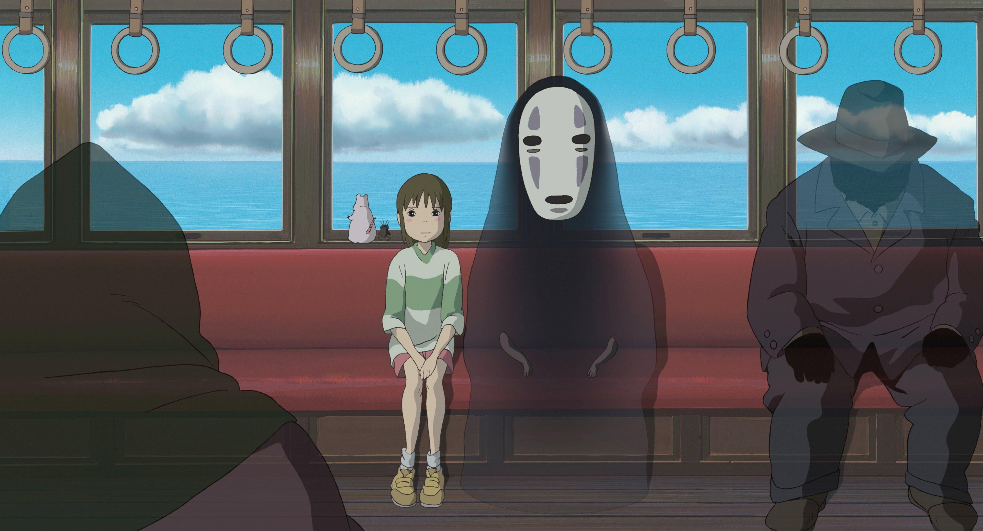 Fondos de pantalla Anime Kaonashi (No-Face) de El viaje de Chihiro Película