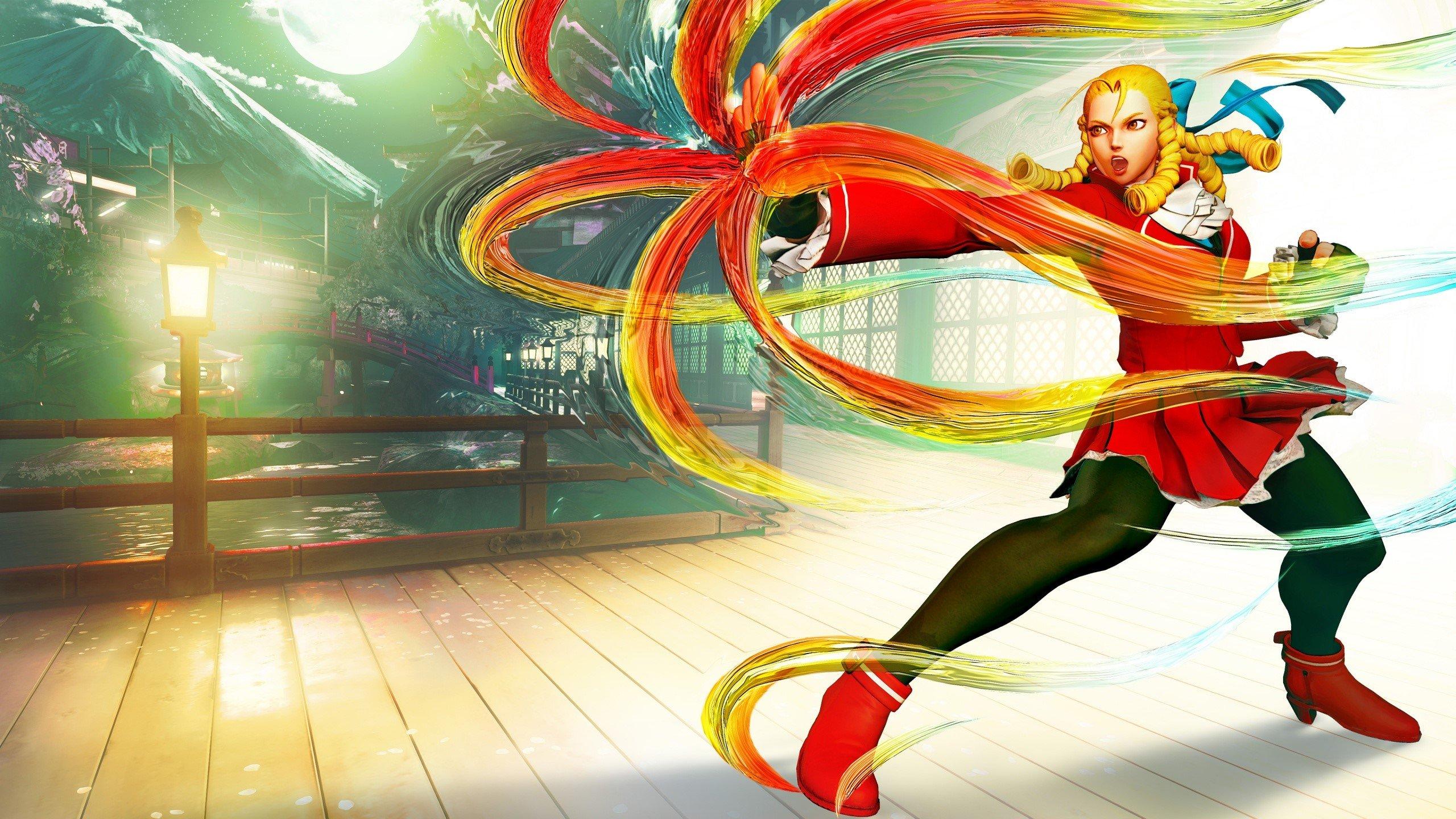 Fondo de pantalla de Karin de Street fighter V Imágenes