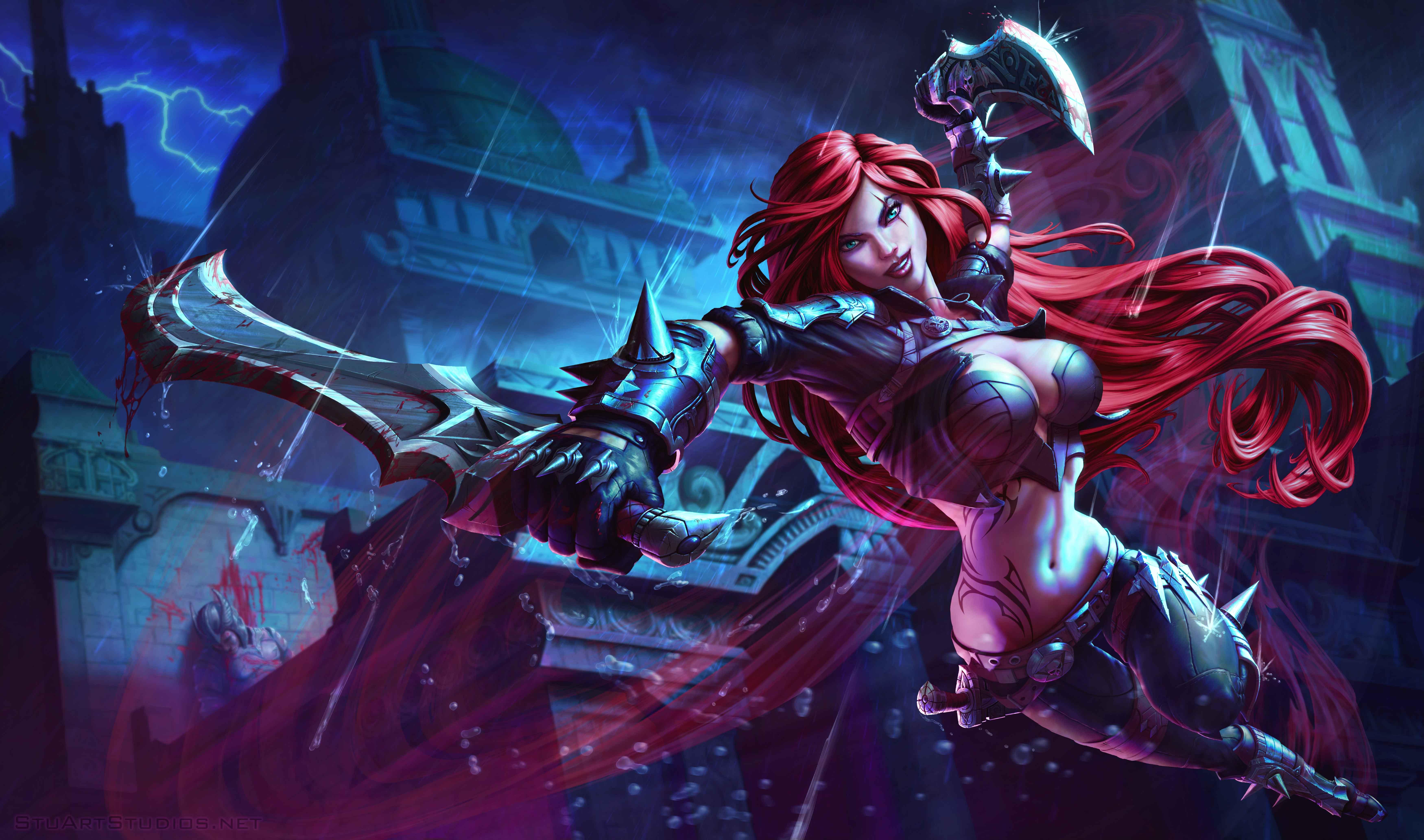 Fondos de pantalla Katarina League Of Legends