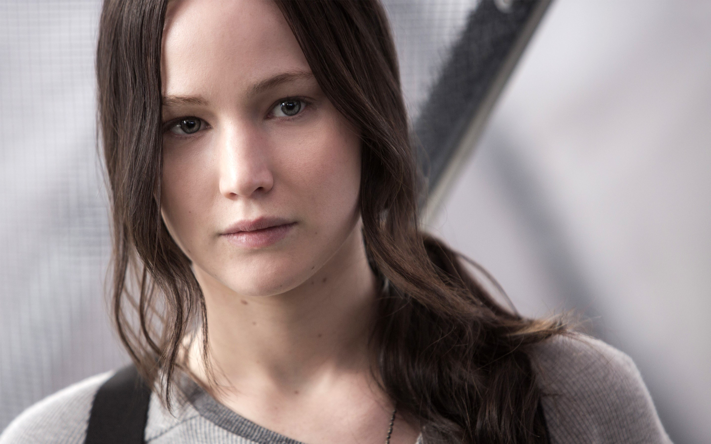 Wallpaper Katniss Everdeen in Mockingjay