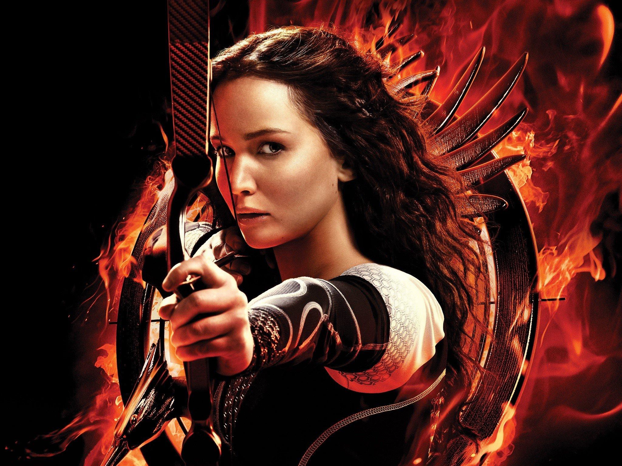 Wallpaper Katniss for Catching Fire