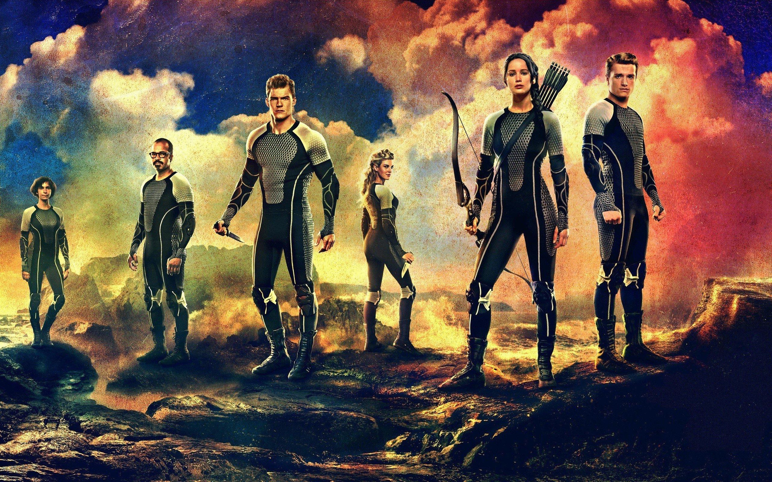 Wallpaper Katniss y Peeta para En llamas Images