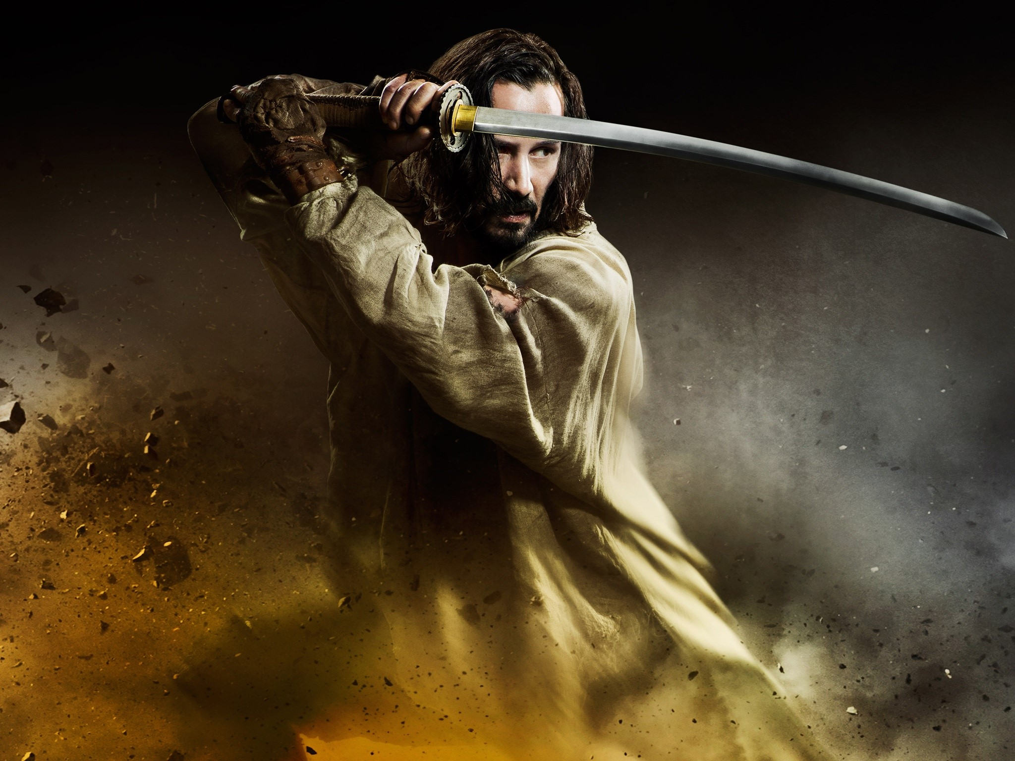 Wallpaper Keanu Reeves at 47 Ronin