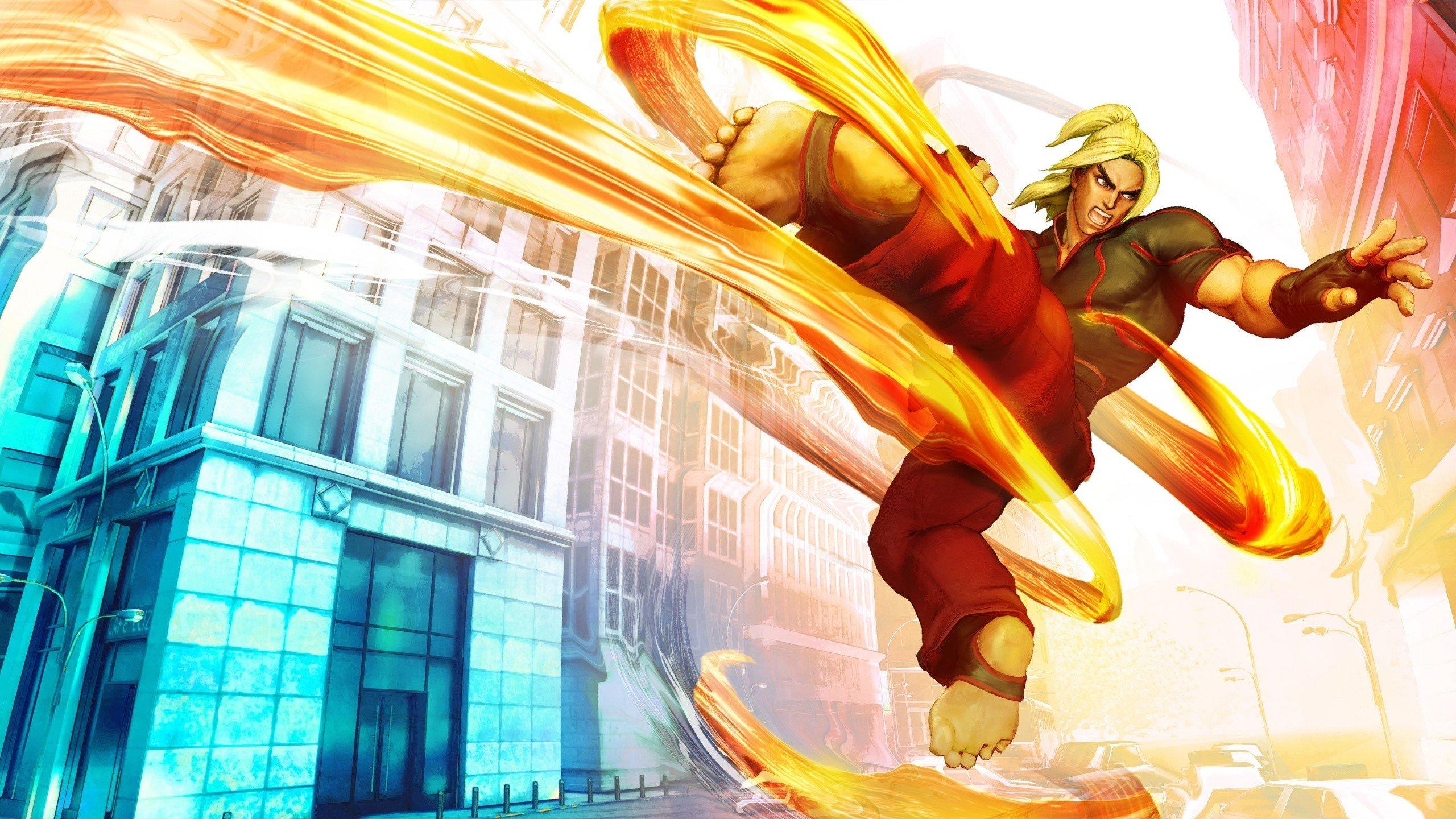 Fondos de pantalla Ken de Street fighter V