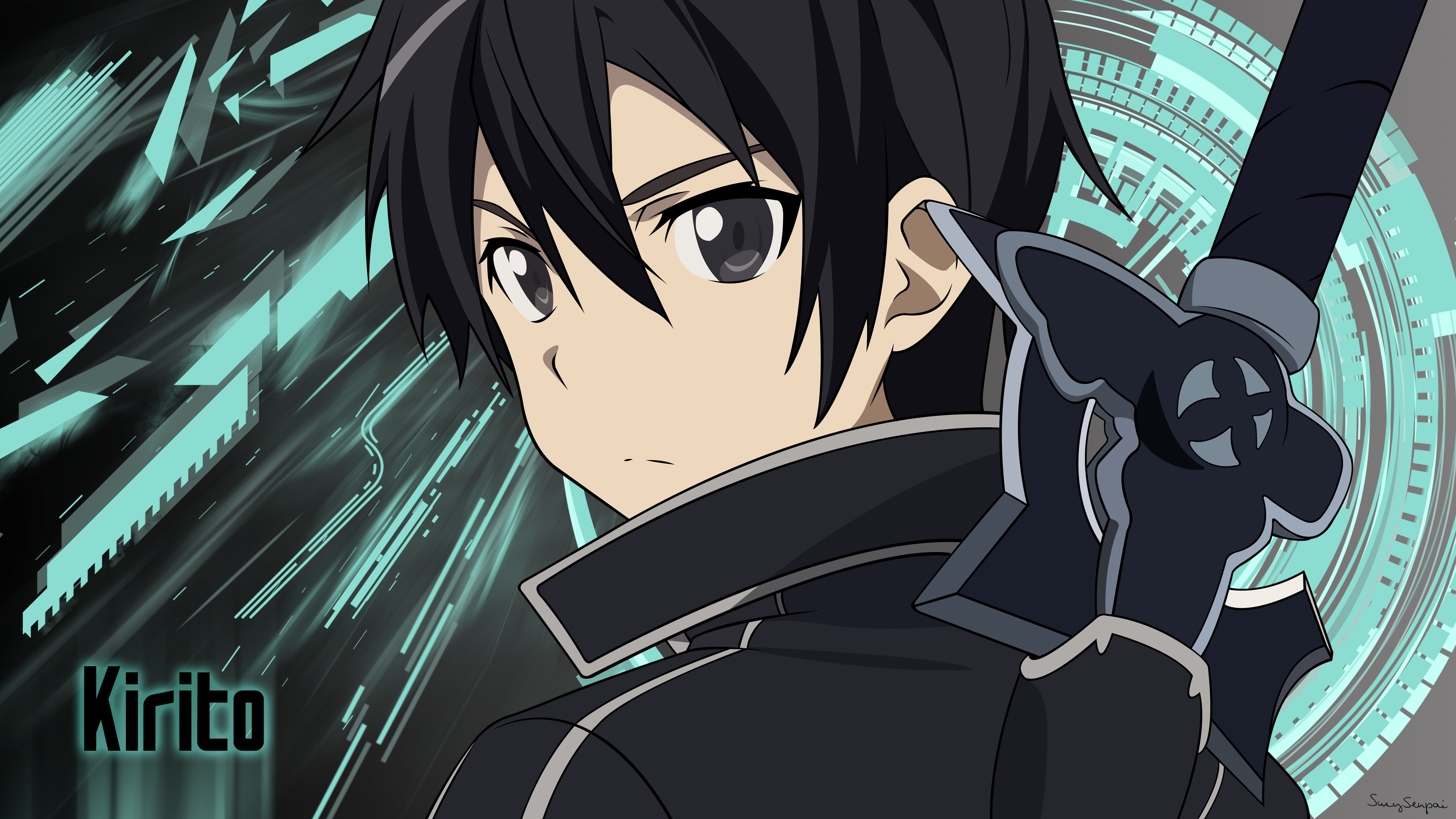 Kirito Sword Art Online Anime Wallpaper 4k Ultra Hd Id3074