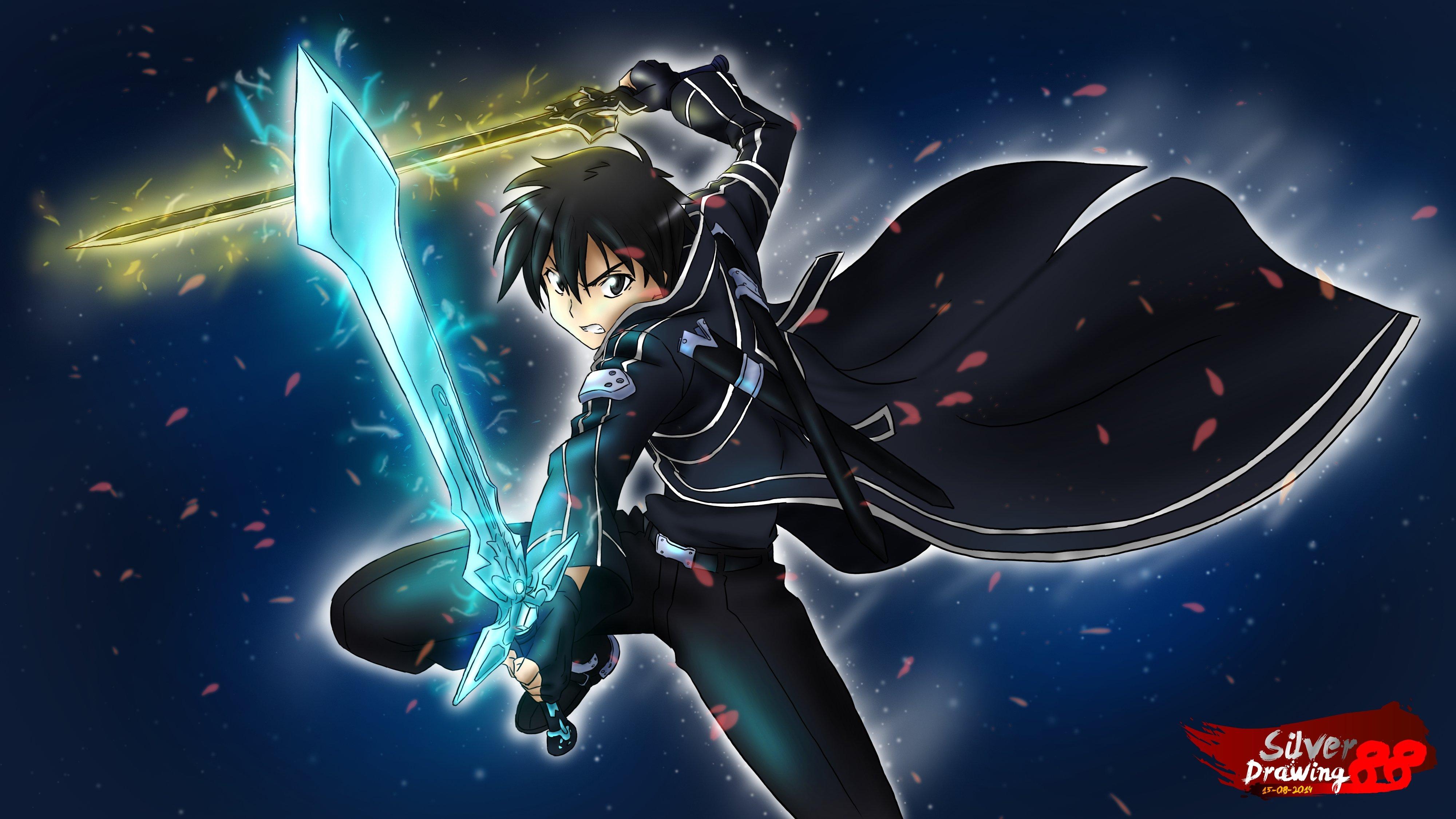 Kirito Sword Art Online Anime Wallpaper Id 3075
