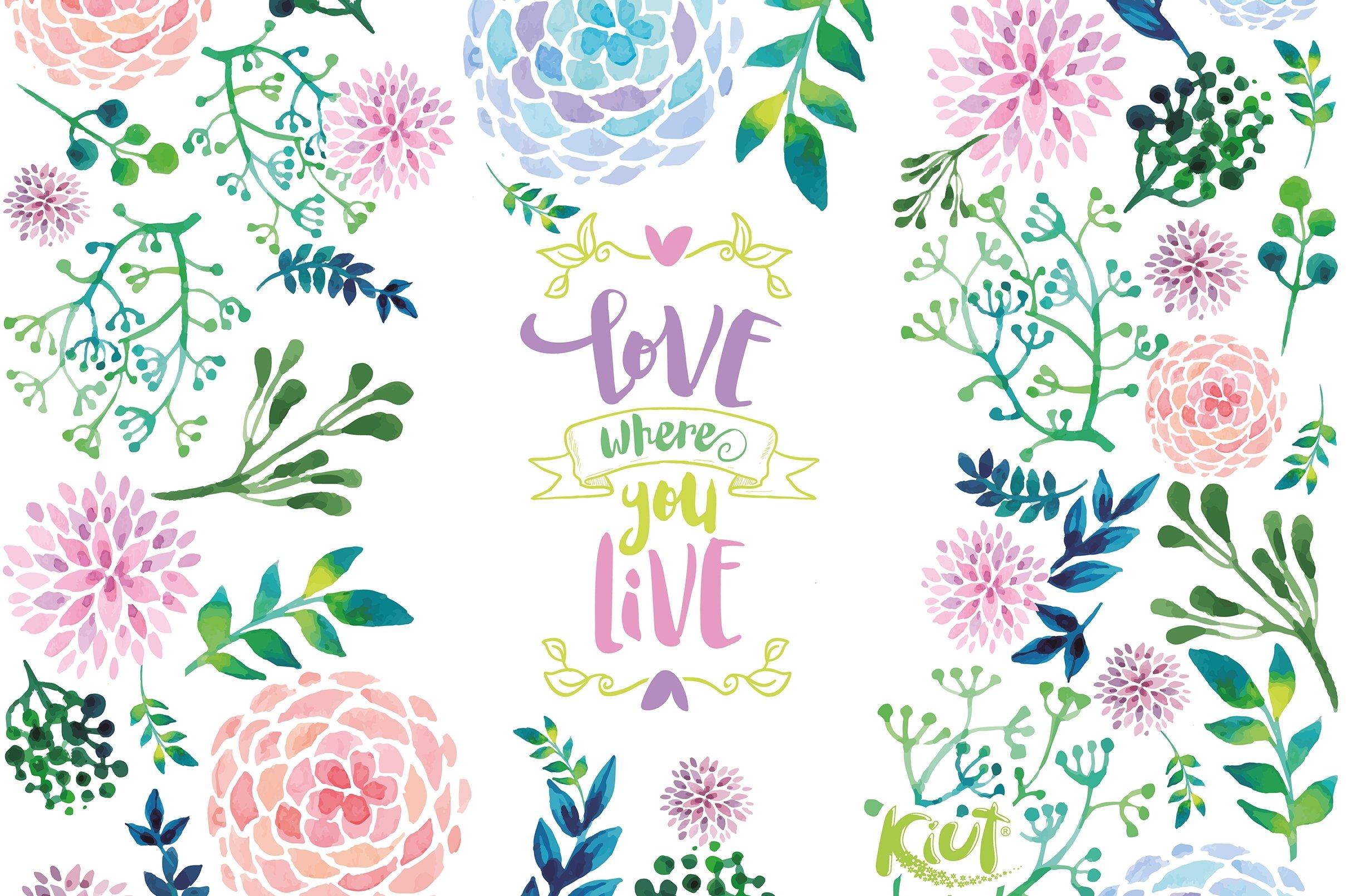 Fondos de pantalla Kiut Flores, Love where you live