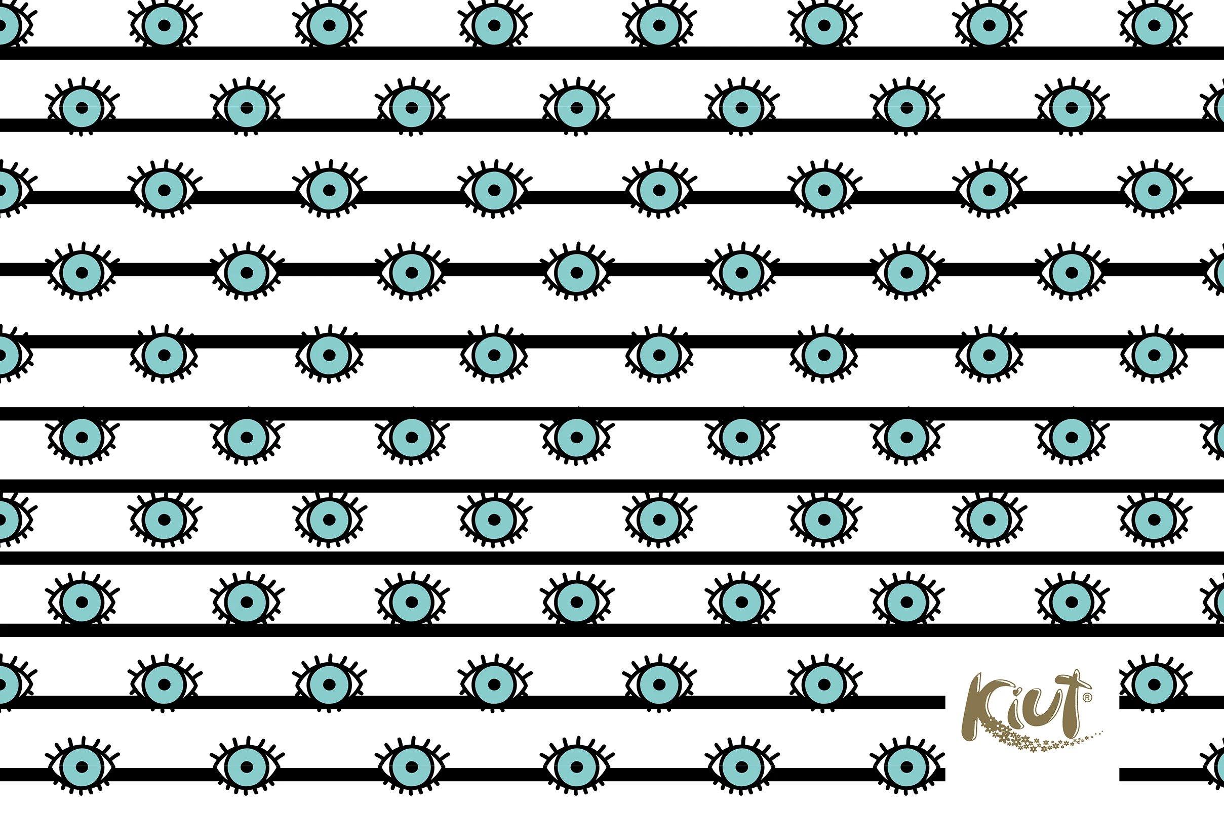 Fondos de pantalla Kiut Patrón de ojos