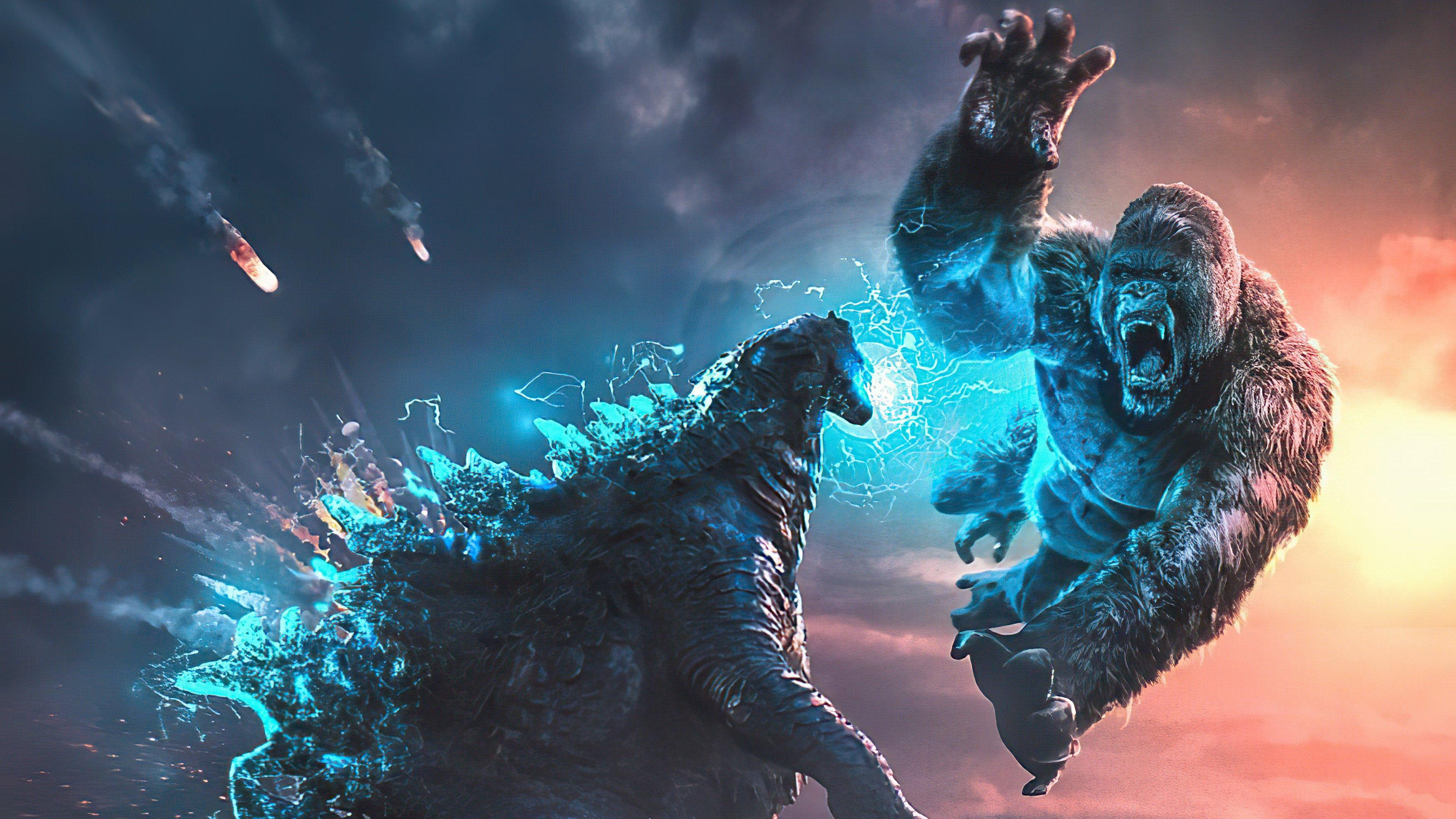 Fondos de pantalla Kong contra Gonzilla