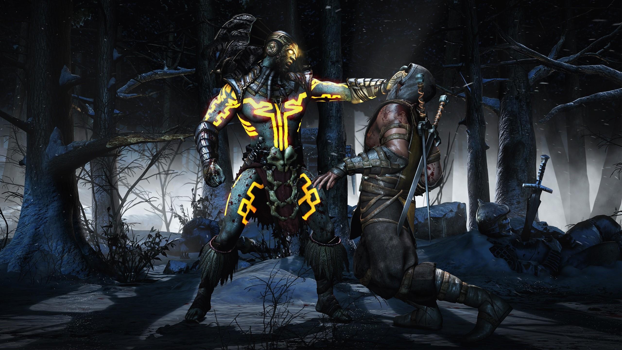 Fondo de pantalla de Kotal Scorpion de Mortal Kombat X Imágenes