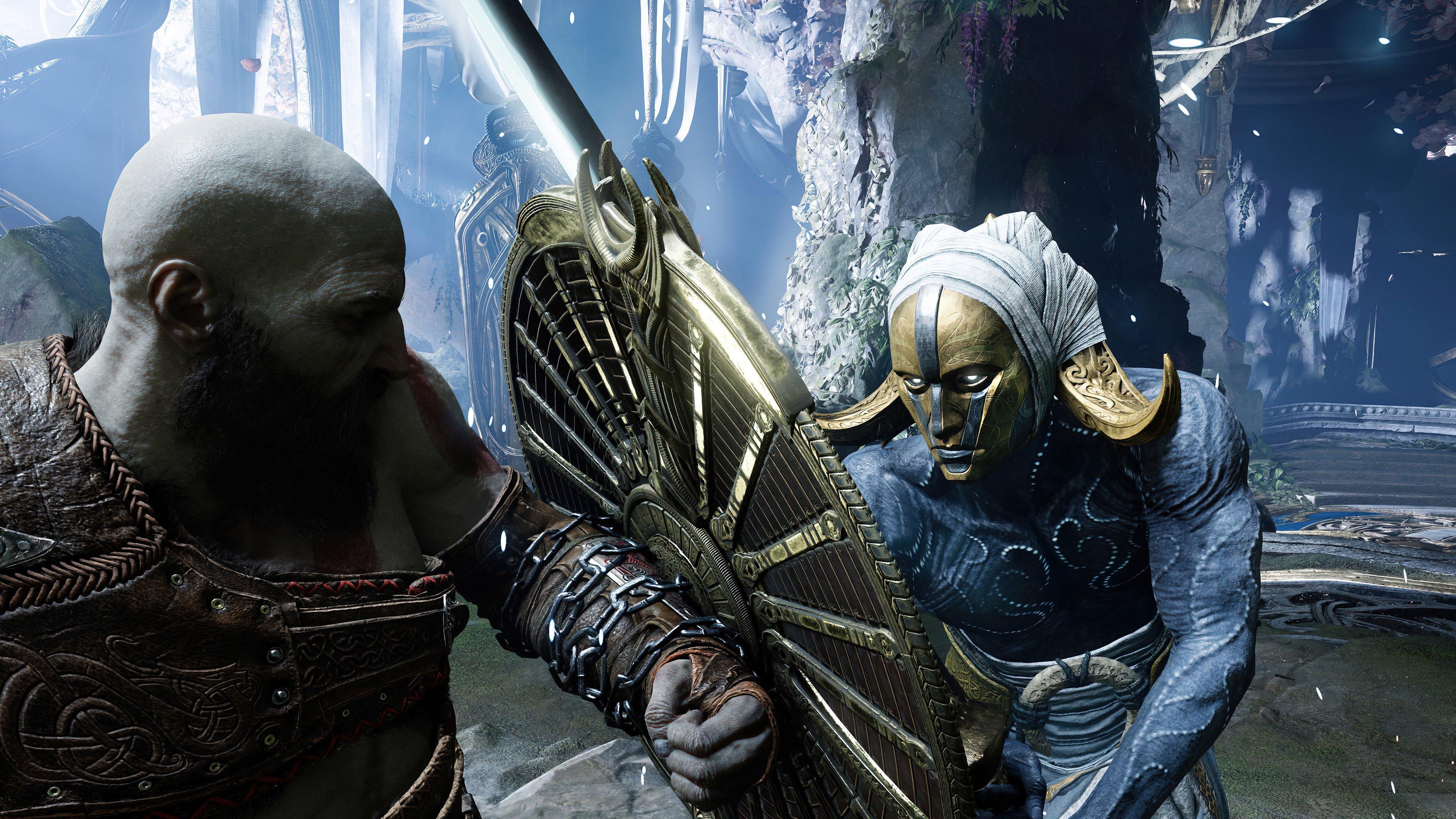 Fondos de pantalla Kratos y Ragnarok God of War