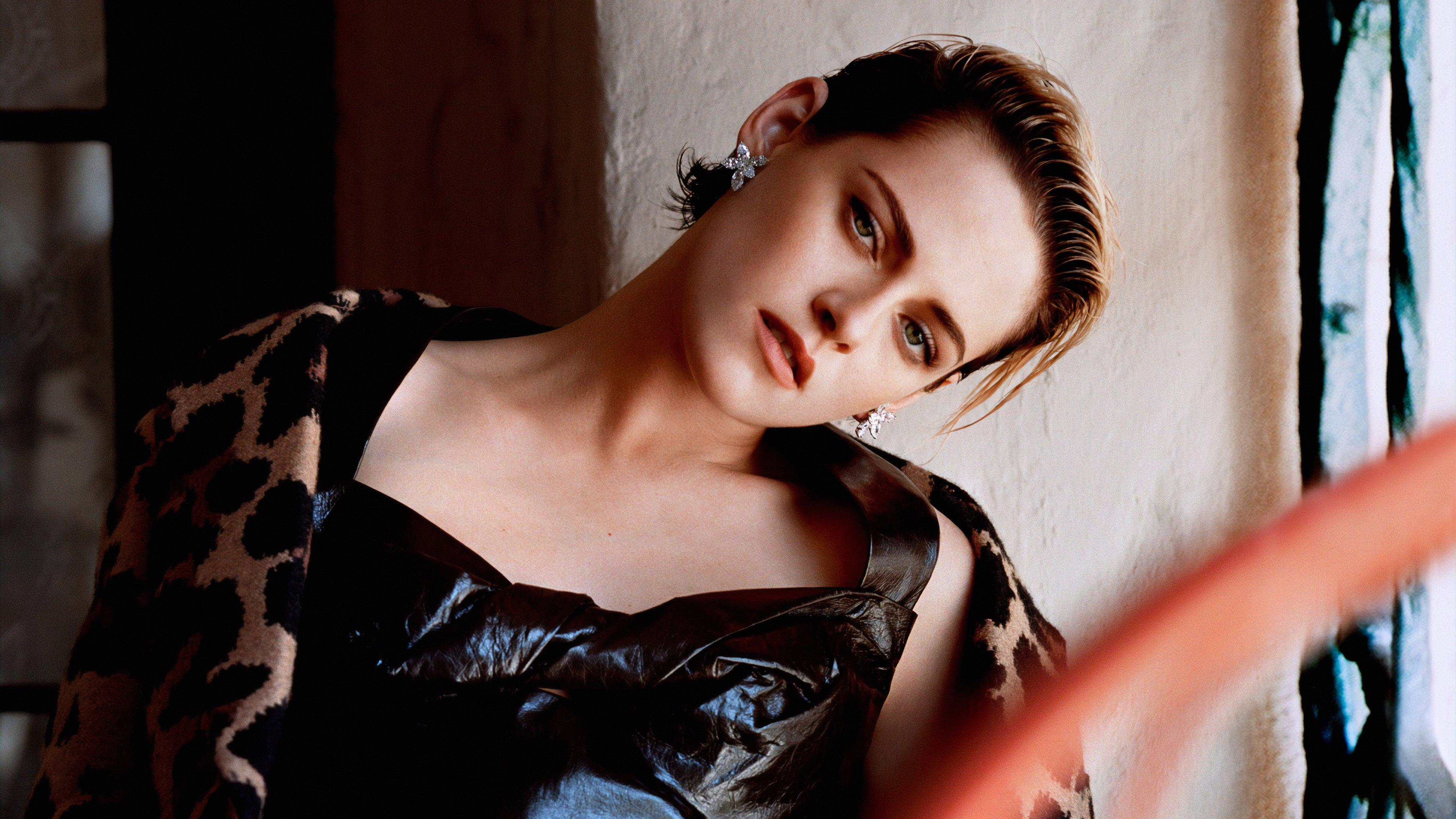 Wallpaper Kristen Stewart short hair