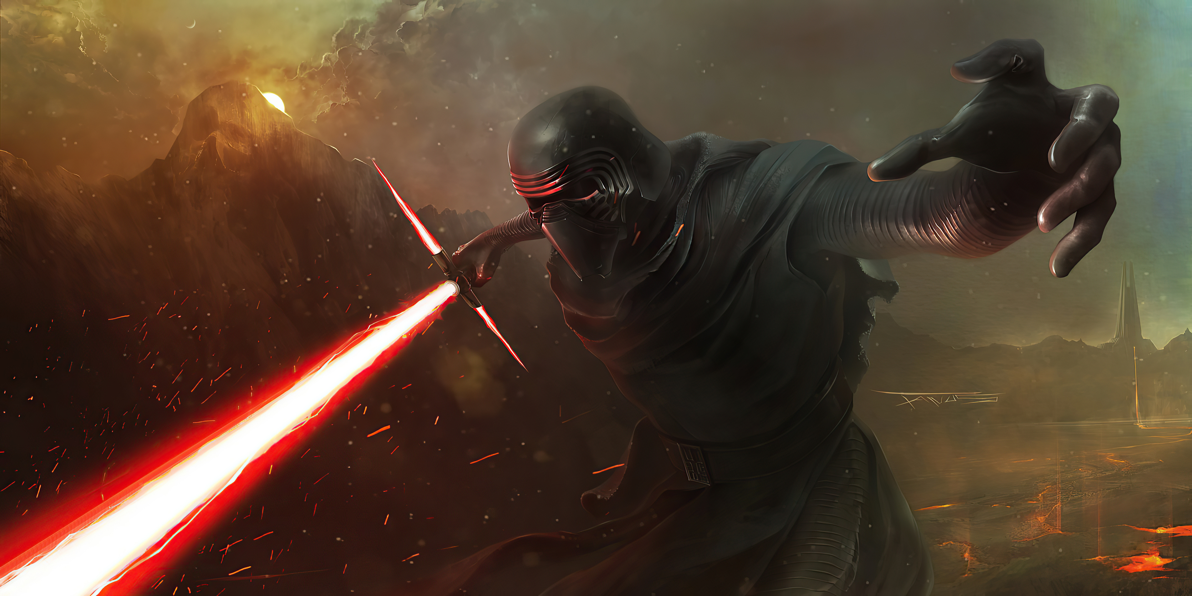 Fondos de pantalla Kylo Ren de Star Wars 2020