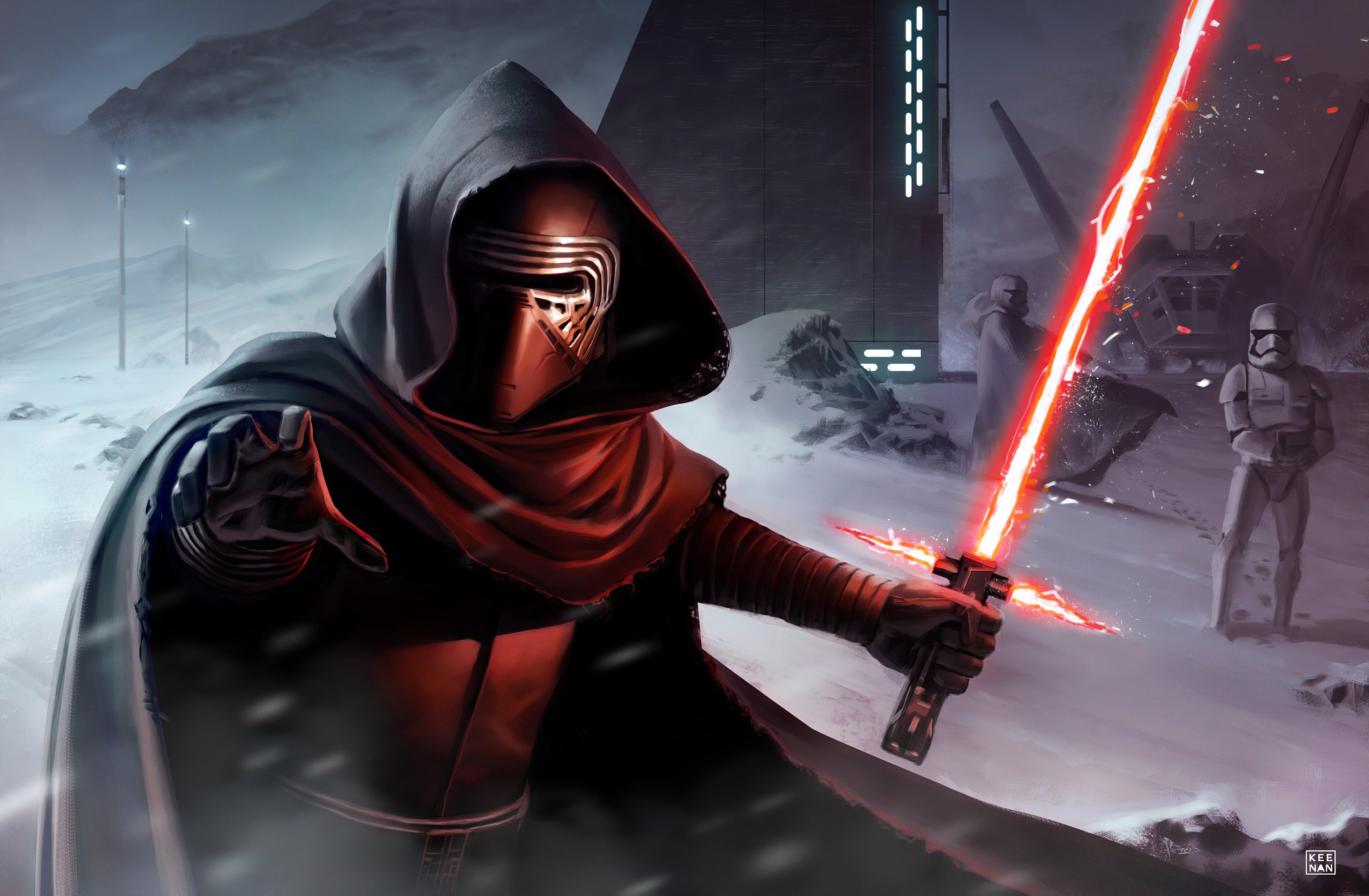 Fondos de pantalla Kylo Ren de Star Wars