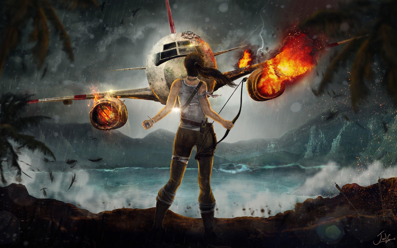 Wallpaper The adventure of Lara Croft