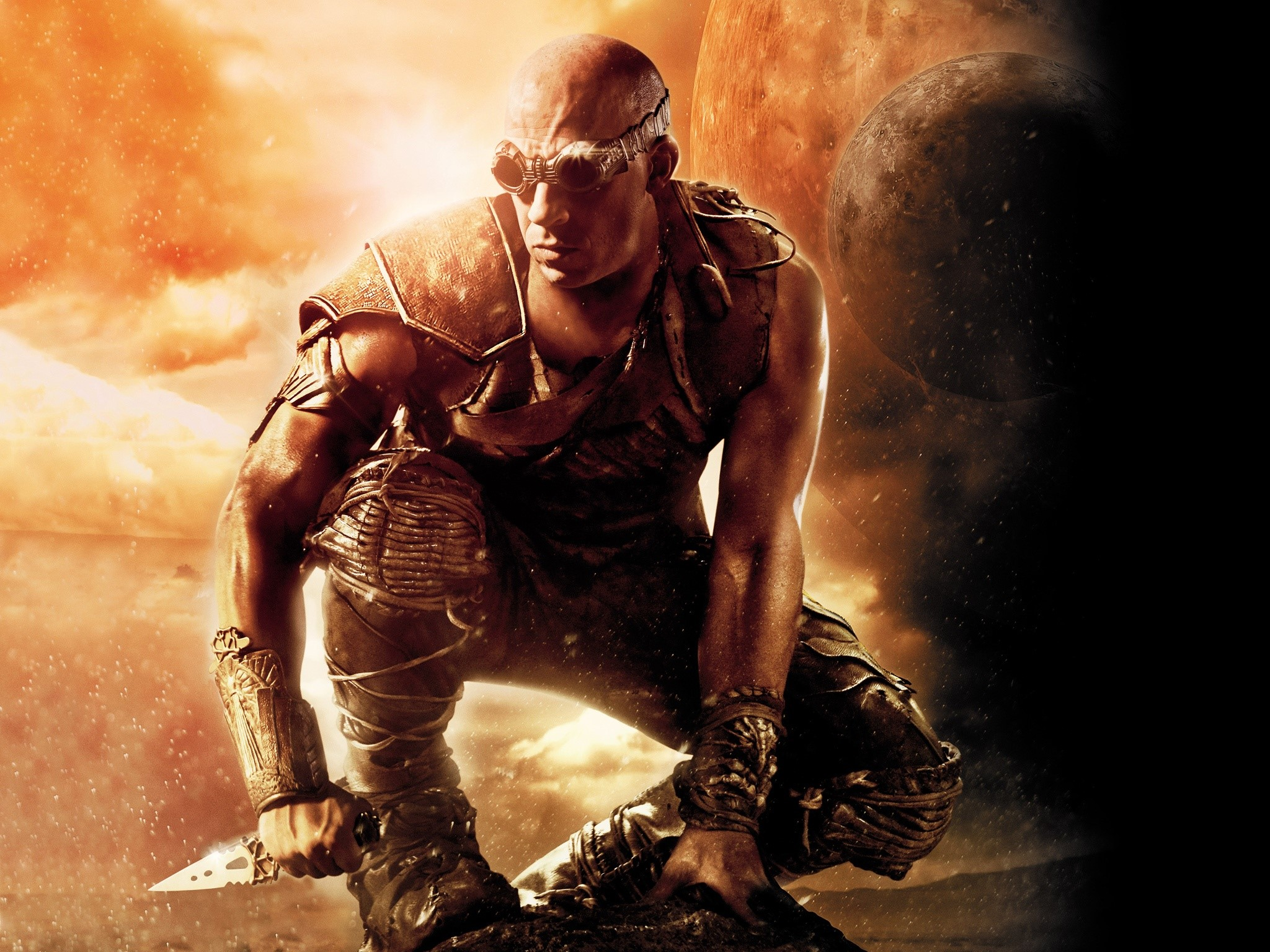 Wallpaper The Battle of Riddick