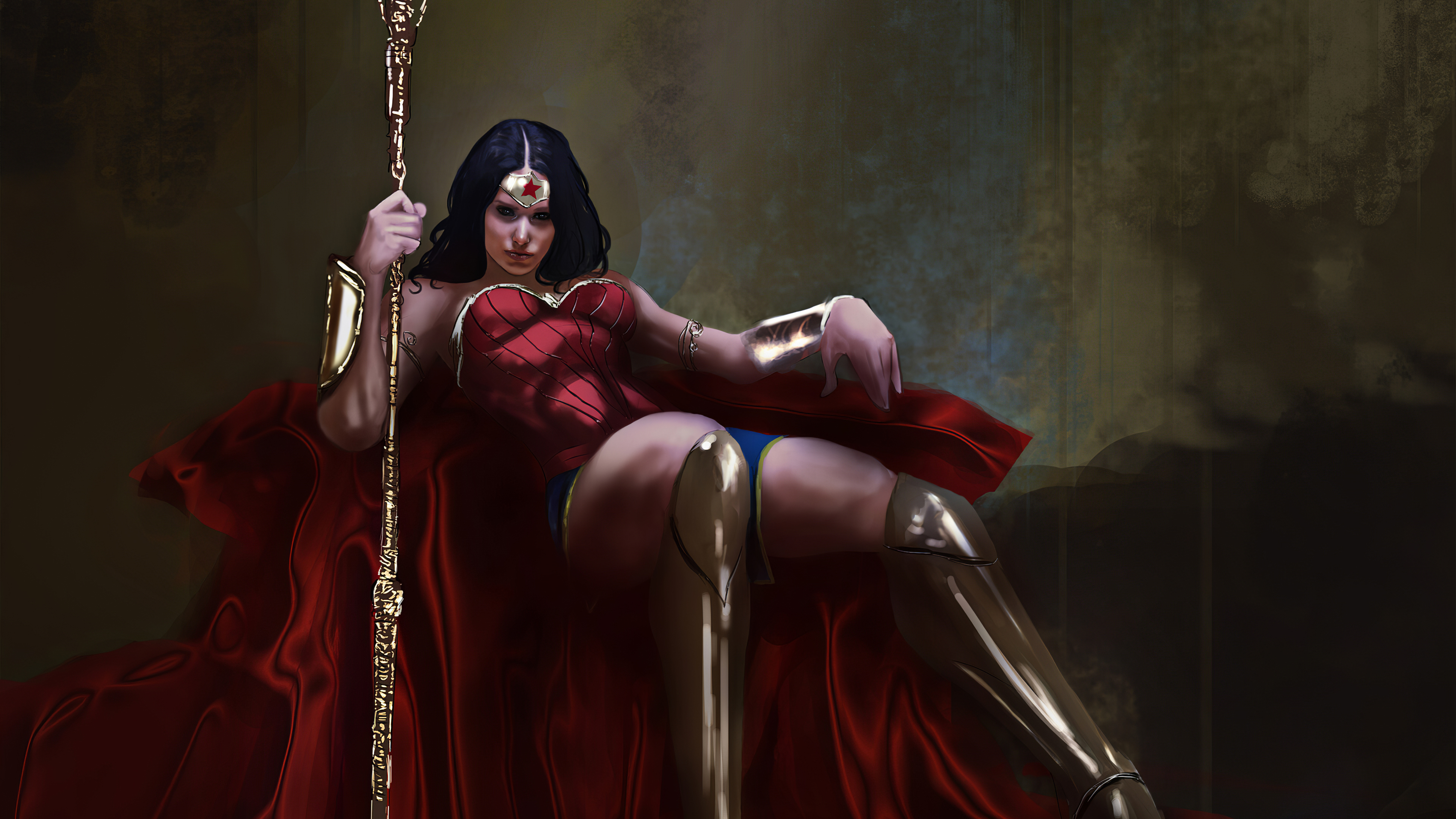 Wallpaper Wonder Woman Artwork 2020