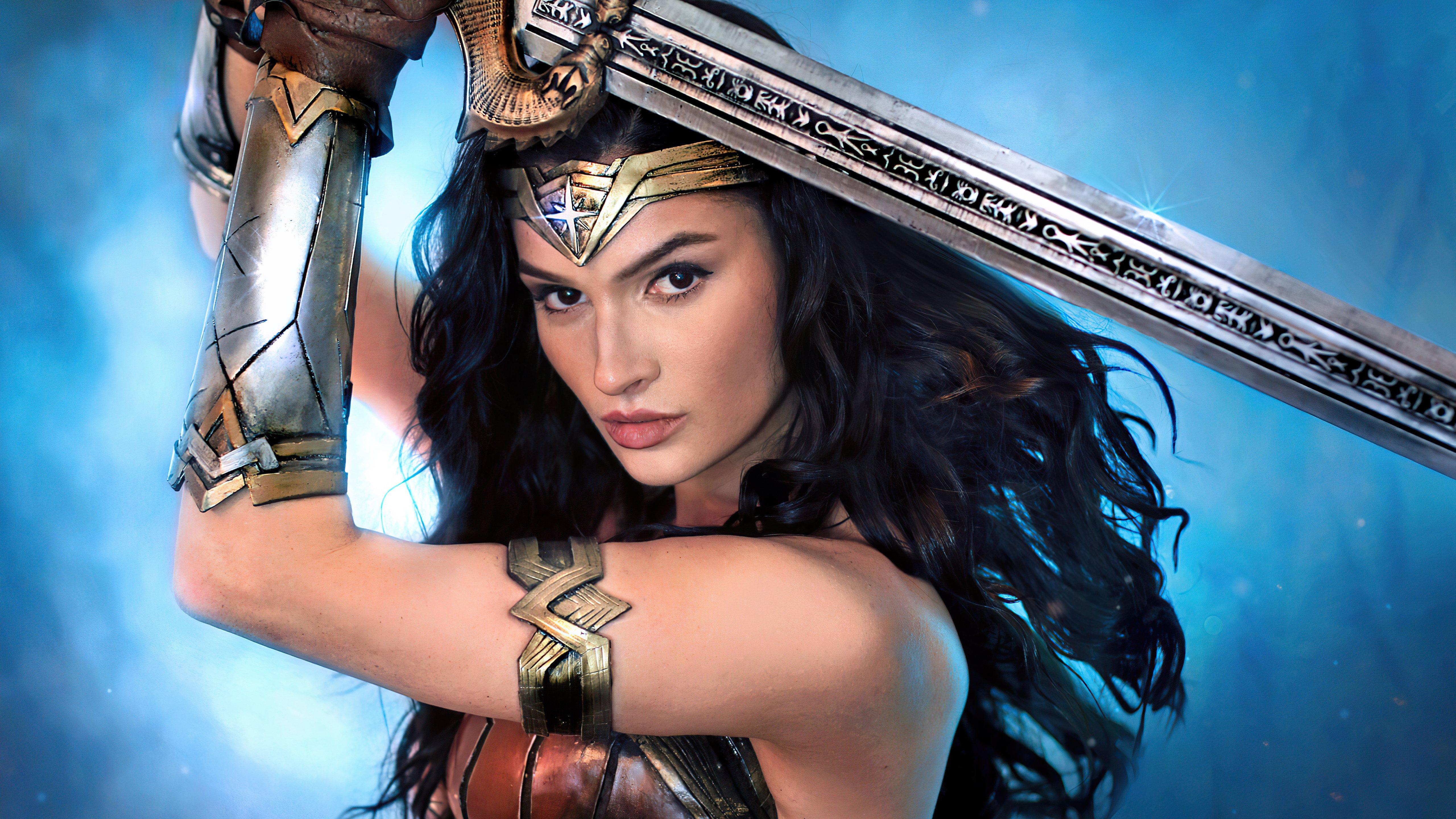 Wallpaper Wonder woman girl in cosplay