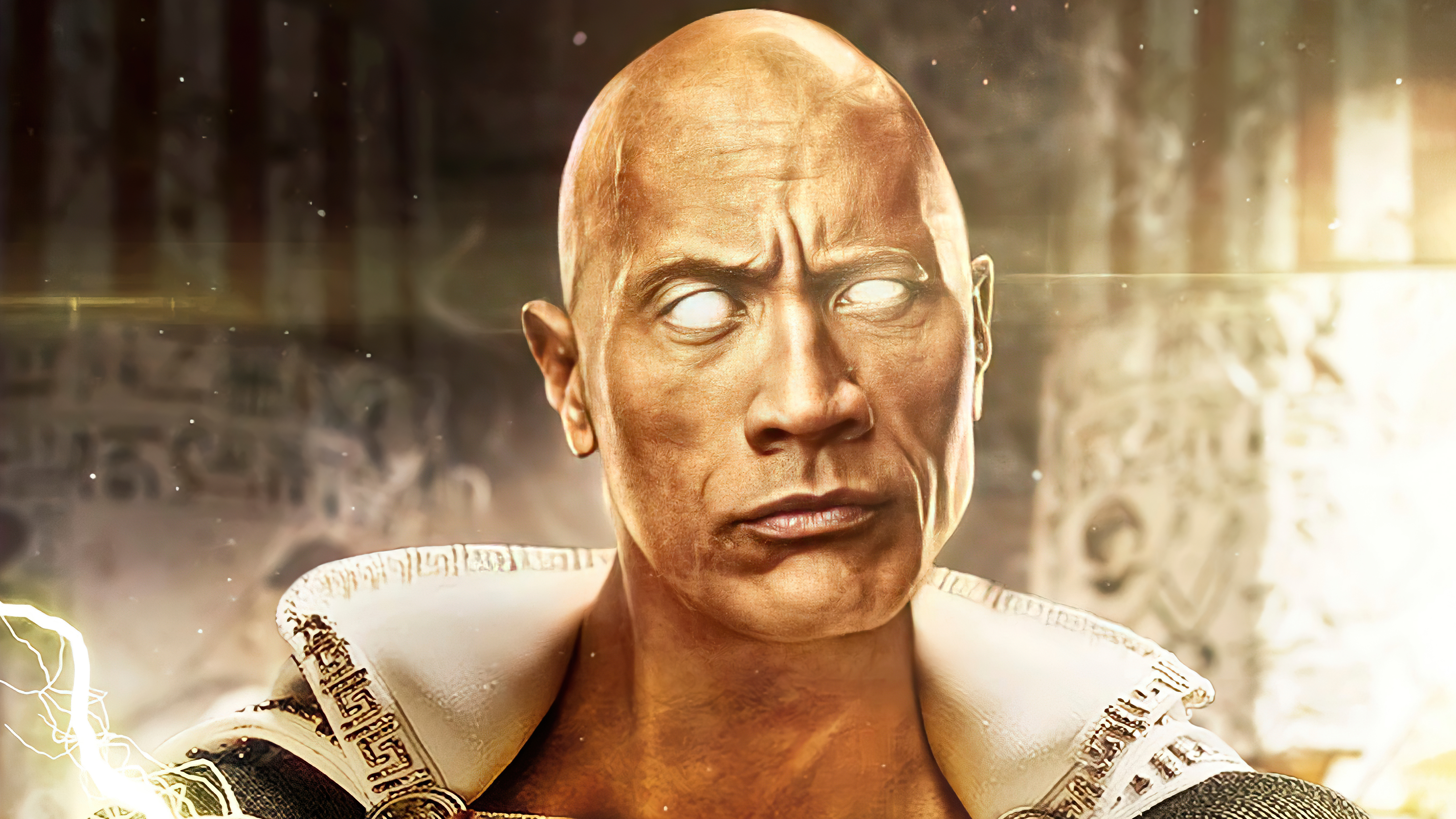 Fondos de pantalla La roca como Black Adam