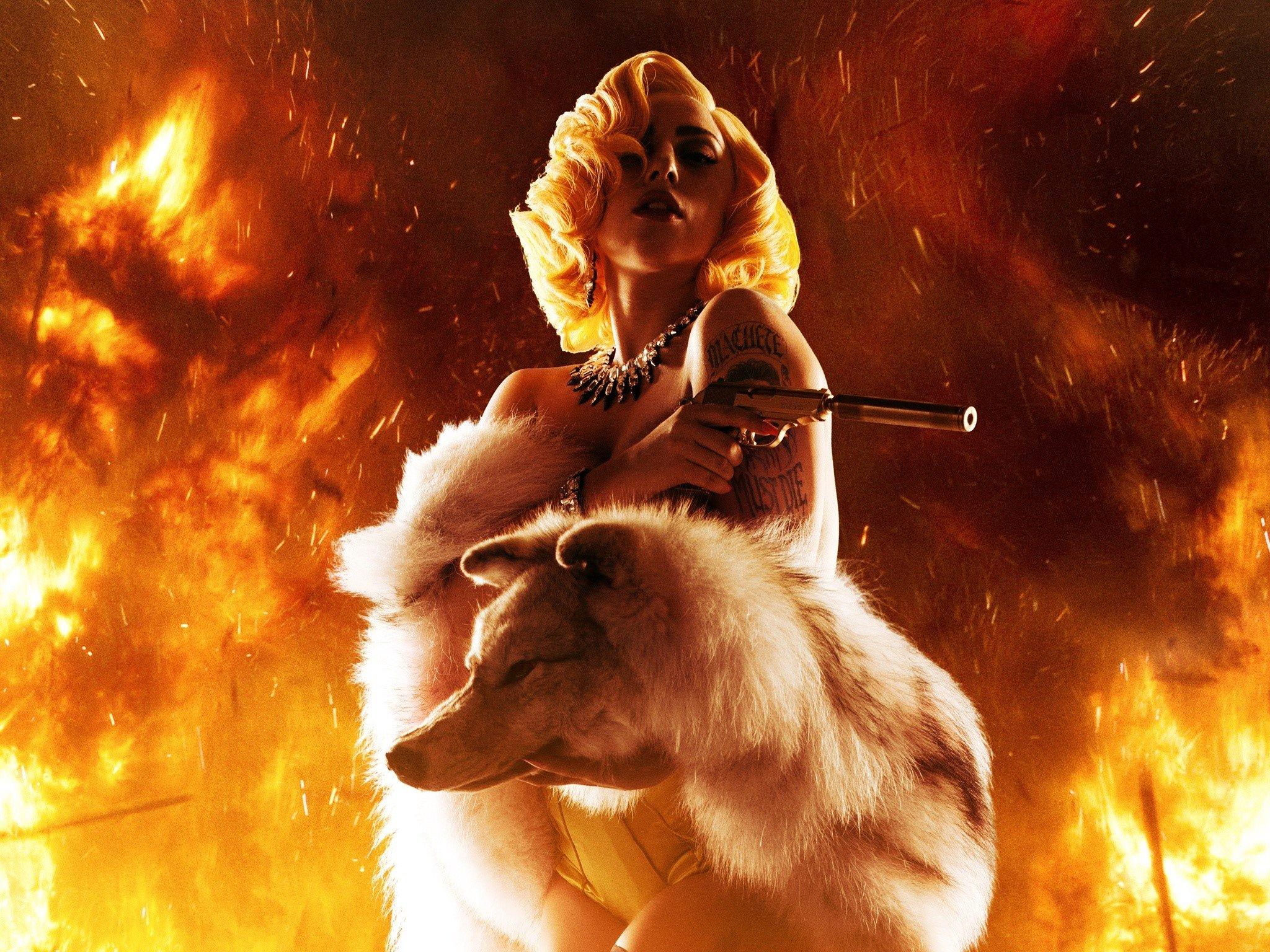 Fondo de pantalla de Lady Gaga en Machete Kills Imágenes