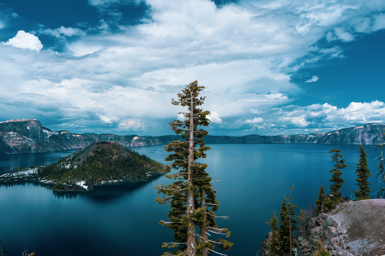 Fondos de pantalla Lago Crater en Oregon