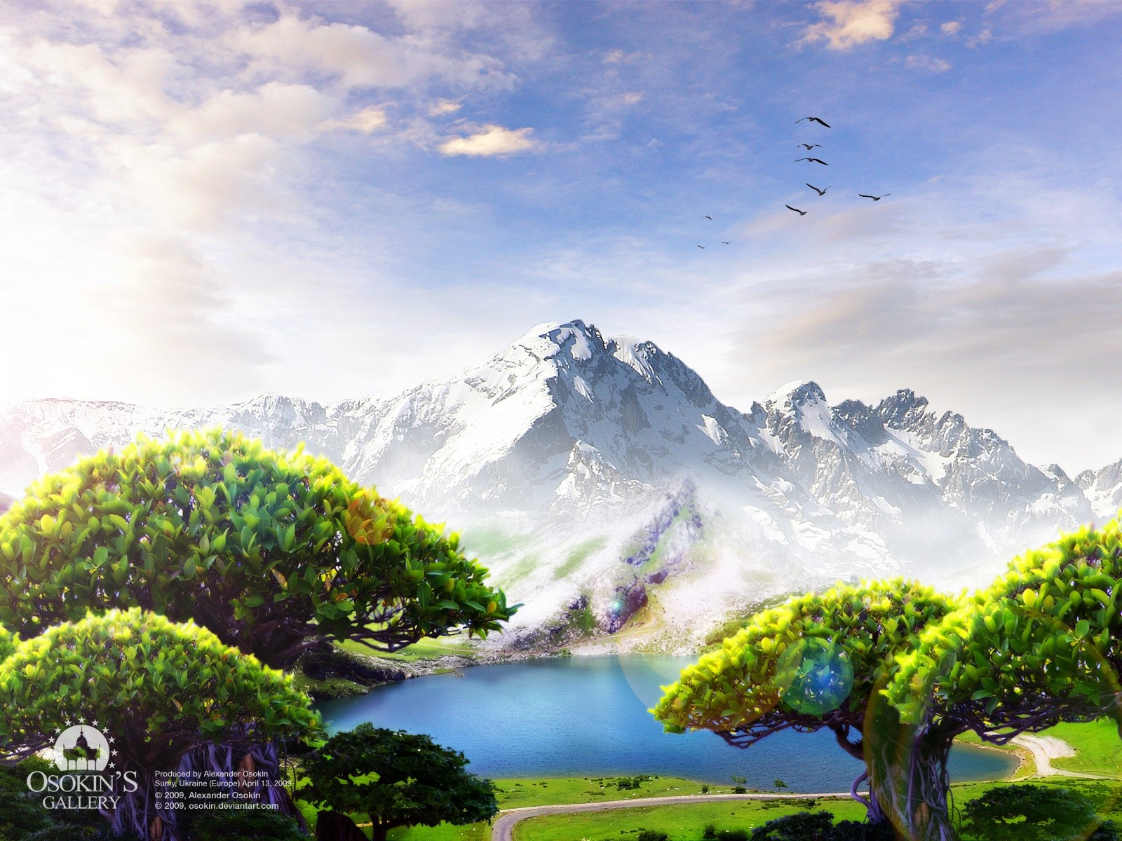 Wallpaper Dream Lake