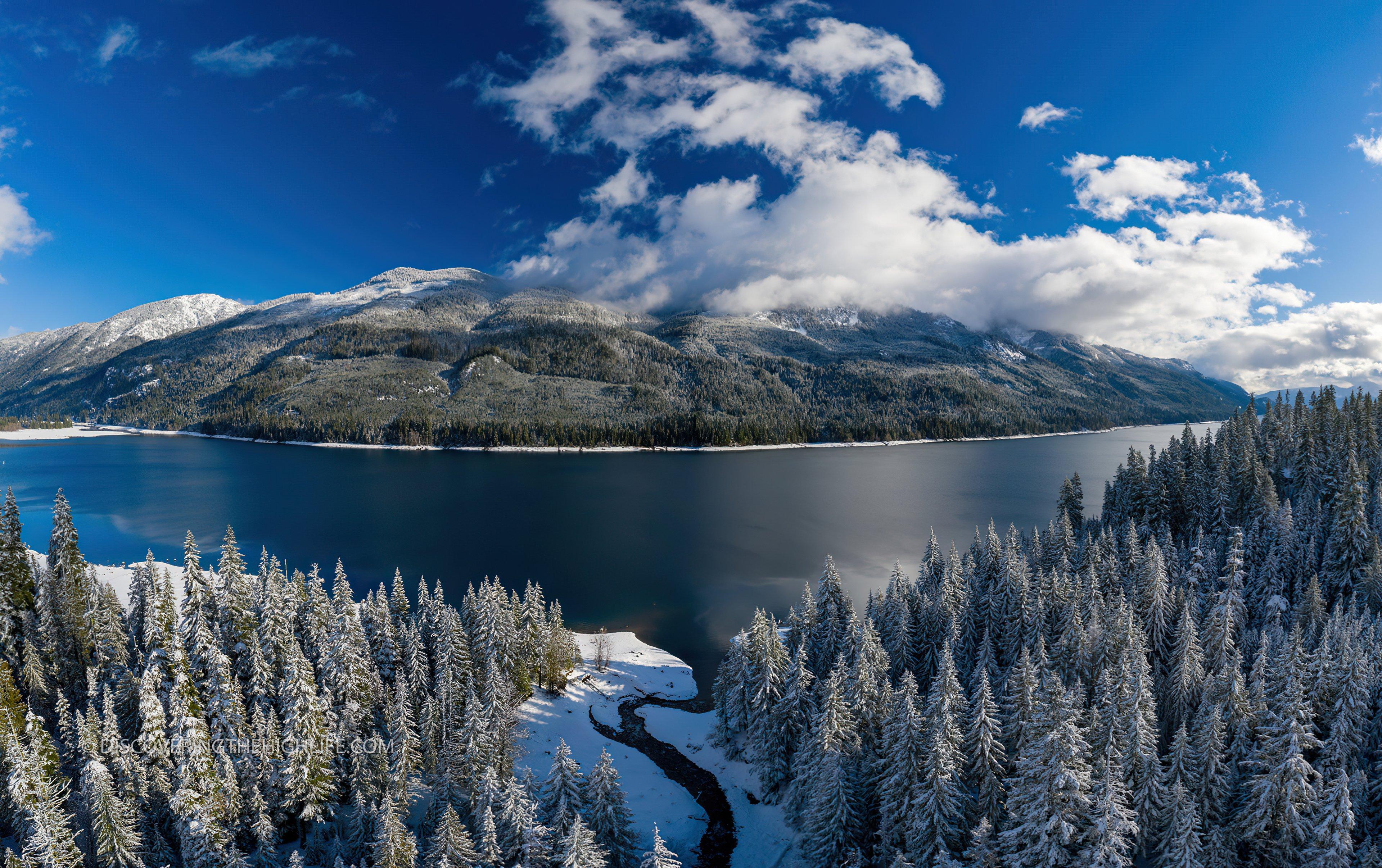 Wallpaper Lake Kachess