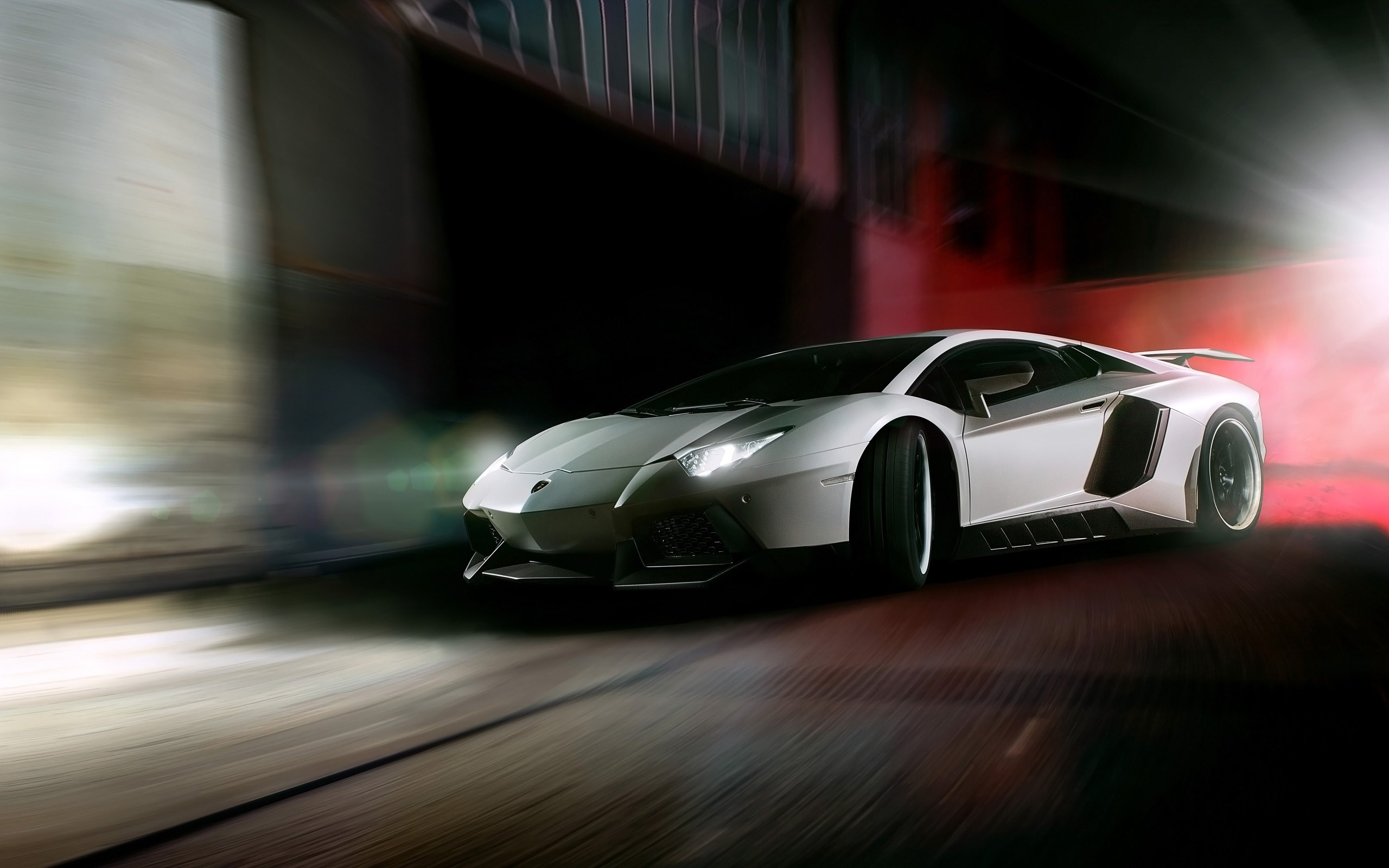 Wallpaper Lamborghini Aventador from Novitec Torado