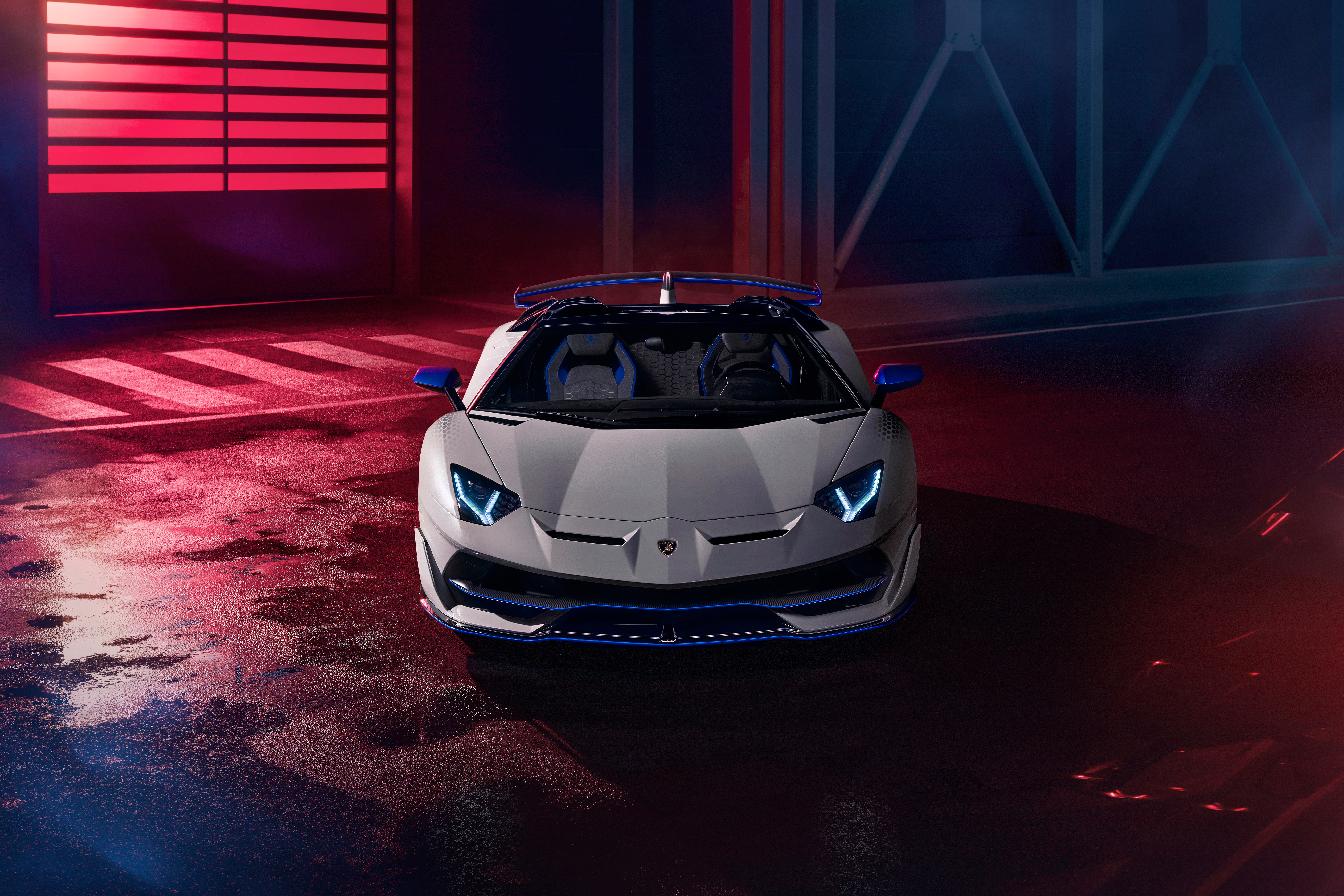 Wallpaper Lamborghini Aventador Roadster Xago Edition