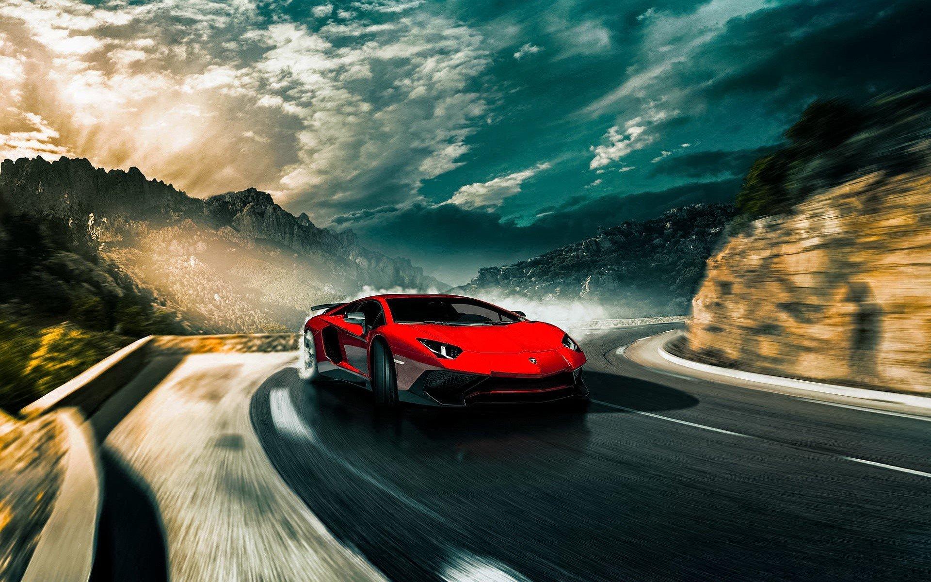 Fondo de pantalla de Lamborghini Aventador SV LP750 4 Imágenes