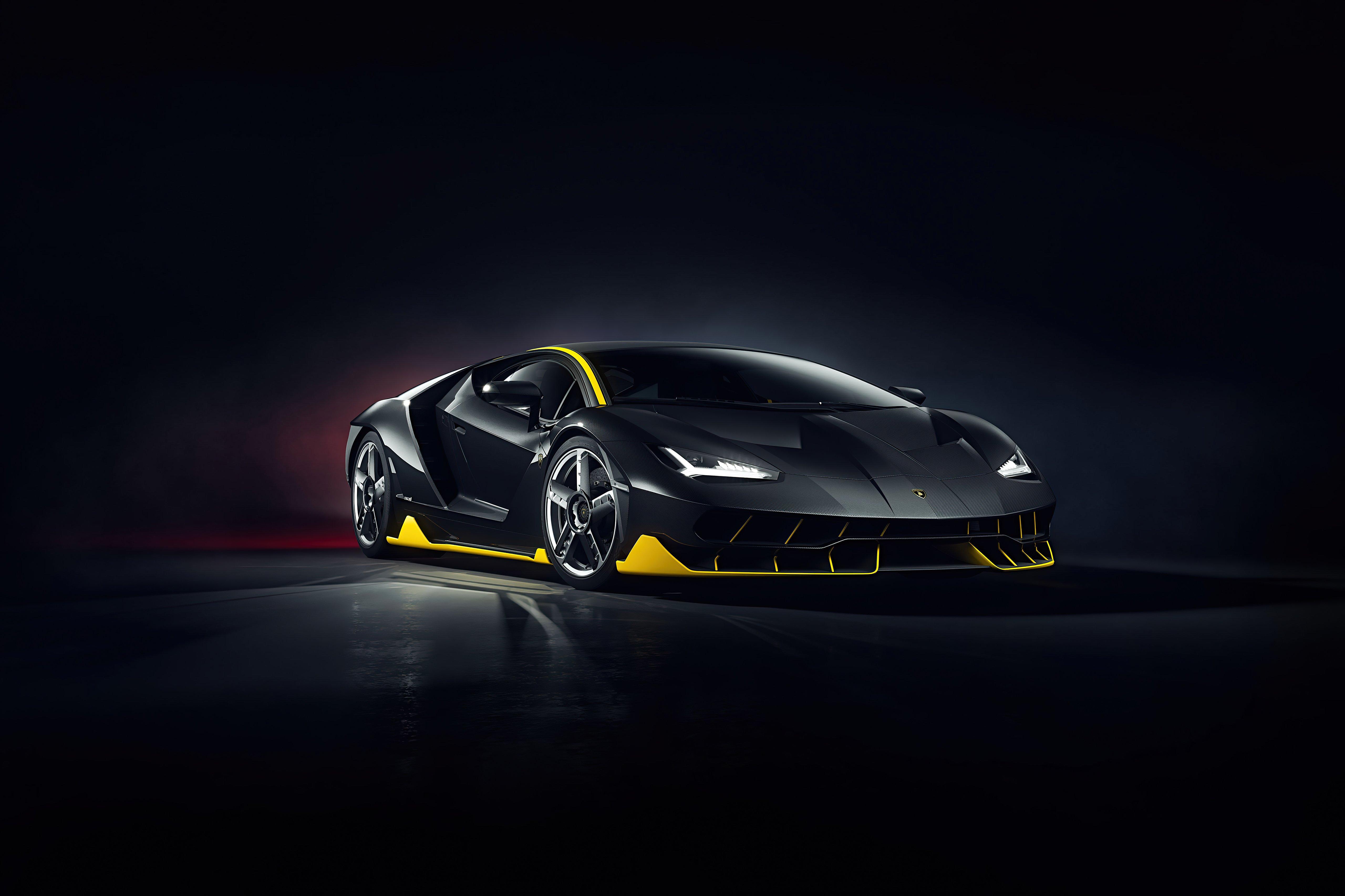 Wallpaper Lamborghini Centenario CGI