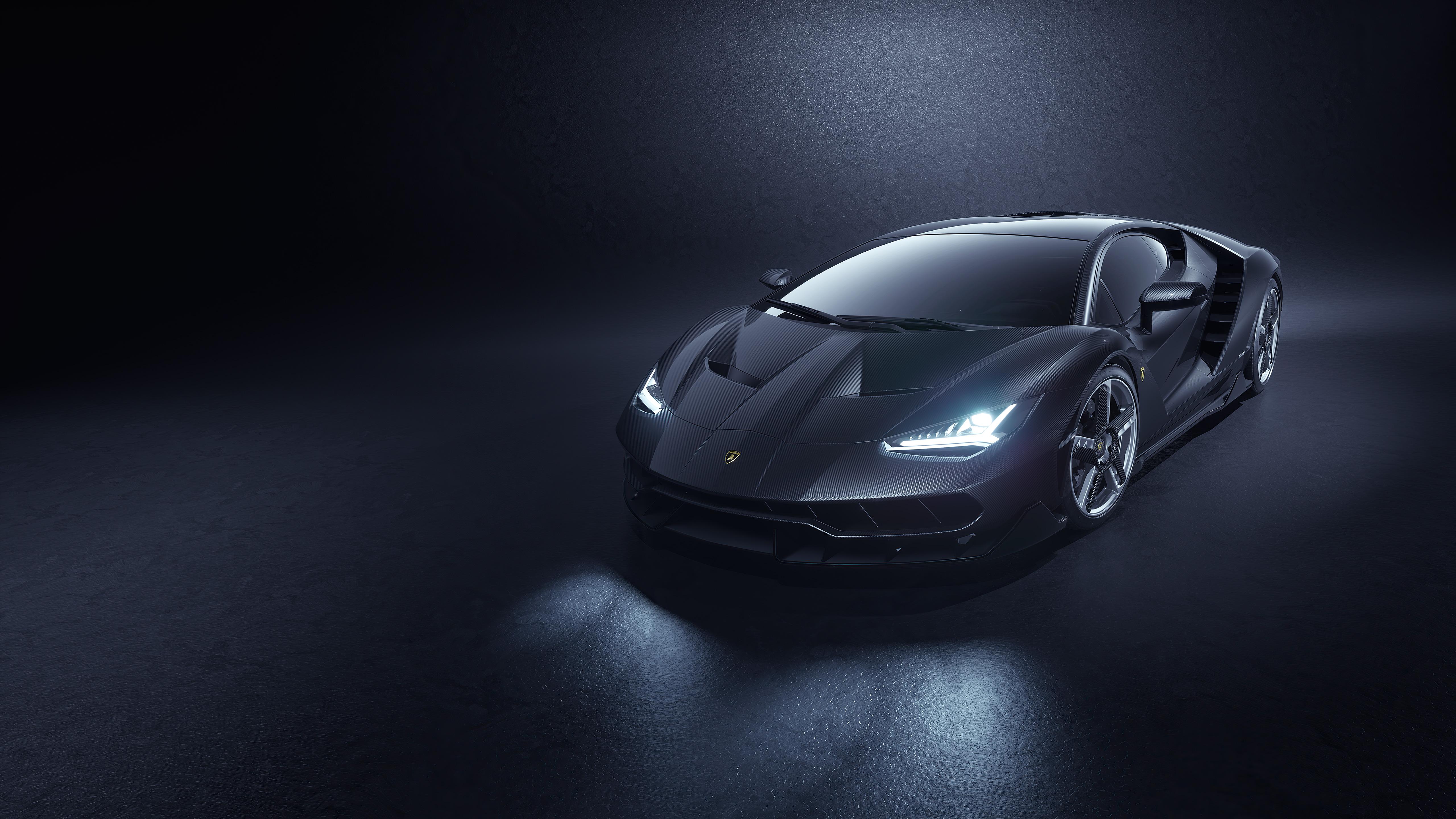 Fondos de pantalla Lamborghini Centenario Gris 2021