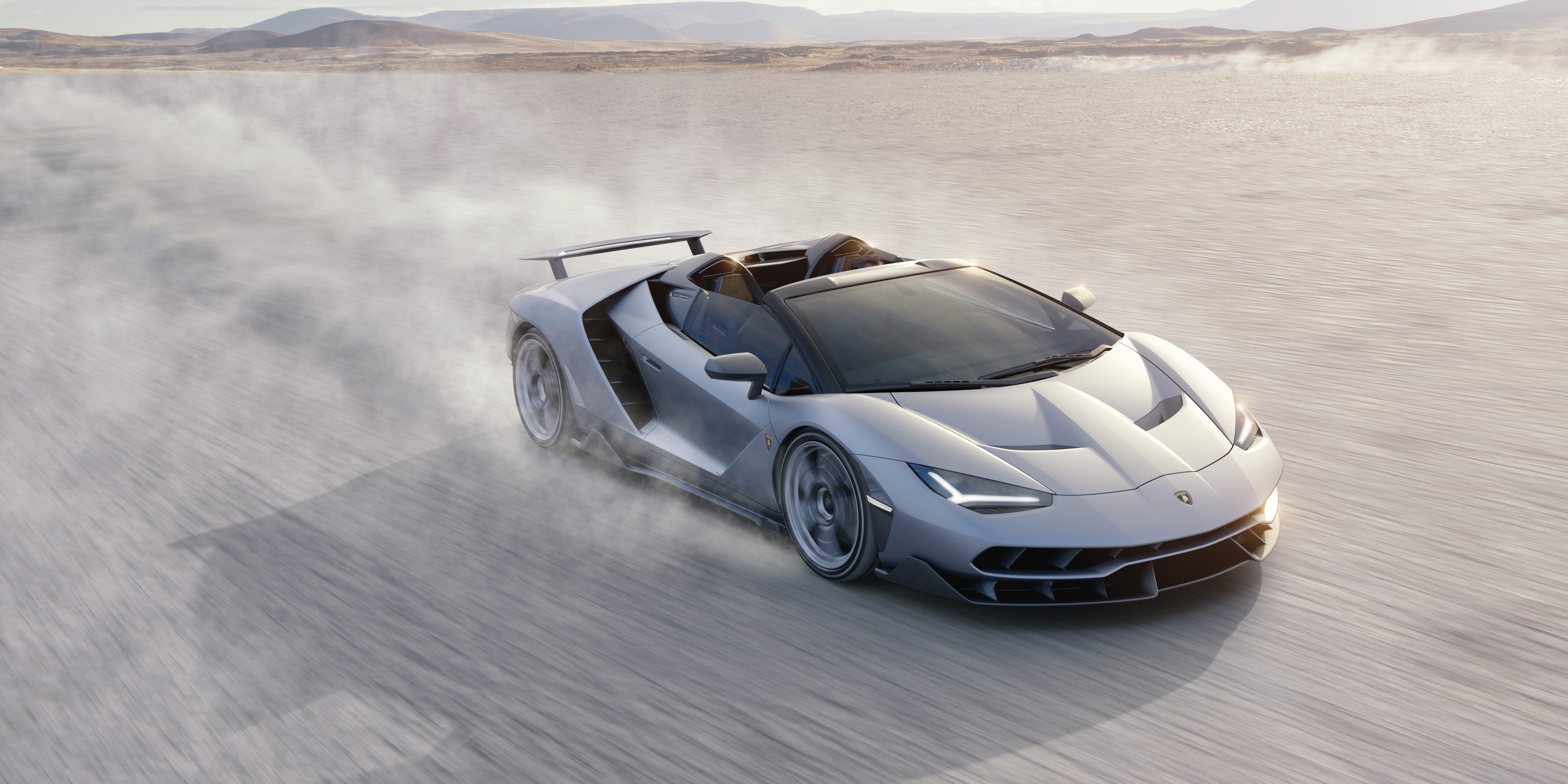 Wallpaper Lamborghini Centenario Roadster