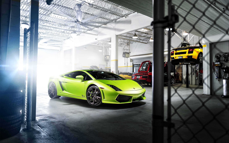 Fondo de pantalla de Lamborghini Gallardo Tikore Imágenes